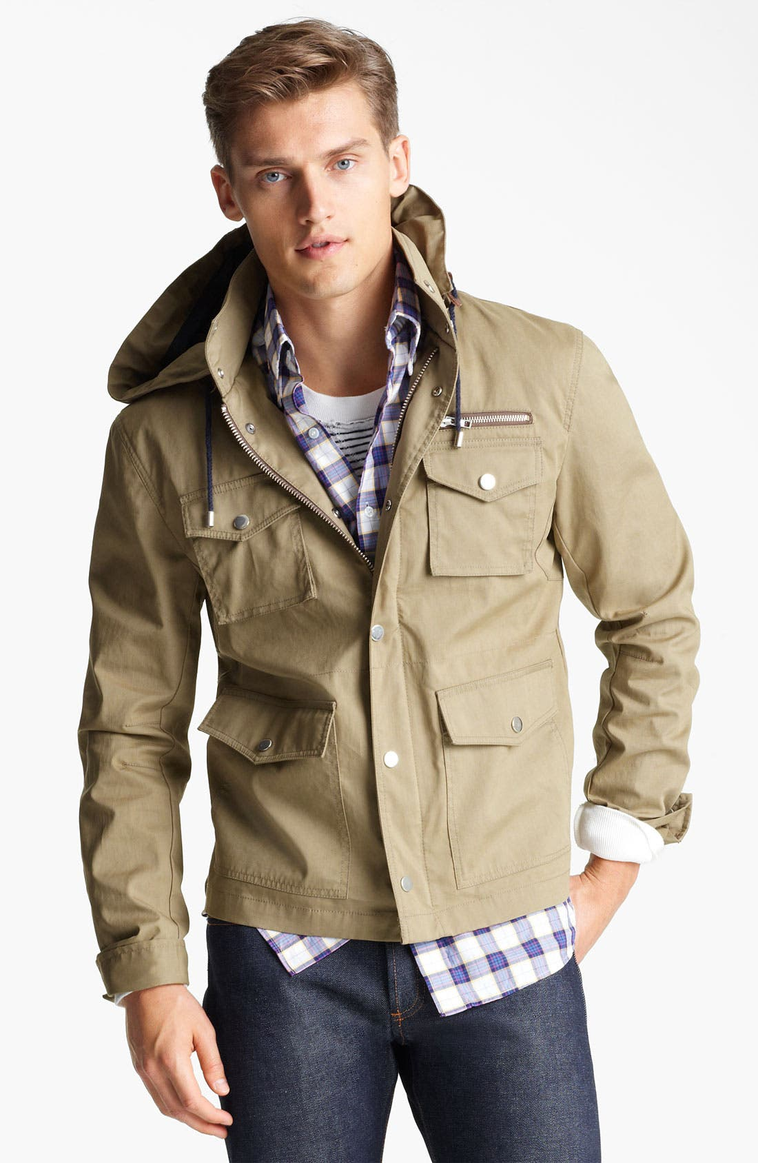 Alternate Image 1 Selected - Michael Bastian Field Jacket