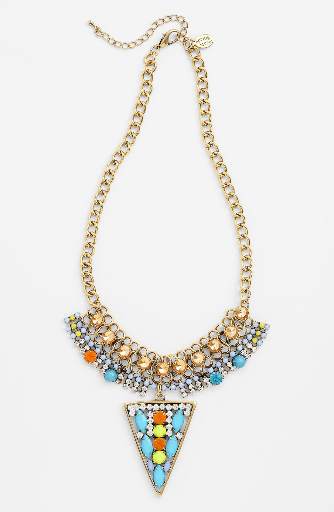 Alternate Image 1 Selected - Spring Street 'Crystal Details' Necklace (Nordstrom Exclusive)