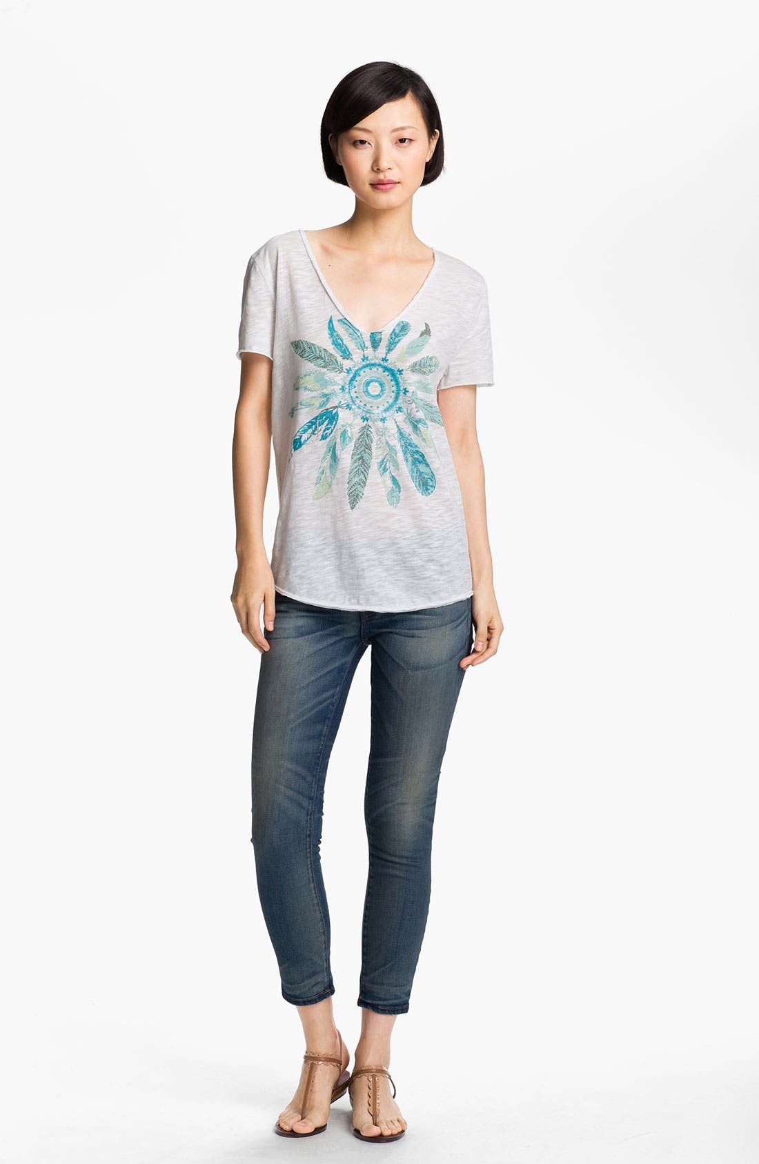 Alternate Image 1 Selected - Zadig & Voltaire 'Tino Flamme' Print Tee