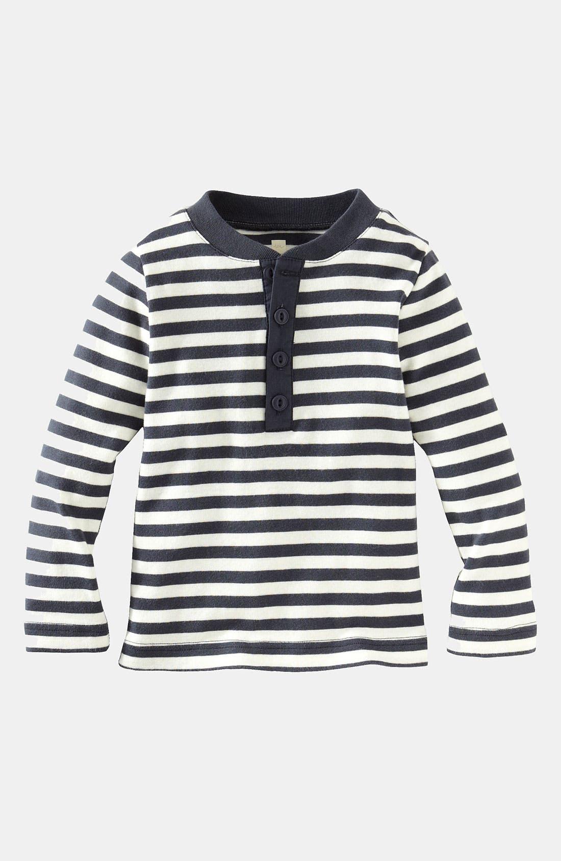 Alternate Image 1 Selected - Tea Collection Henley Shirt (Toddler)