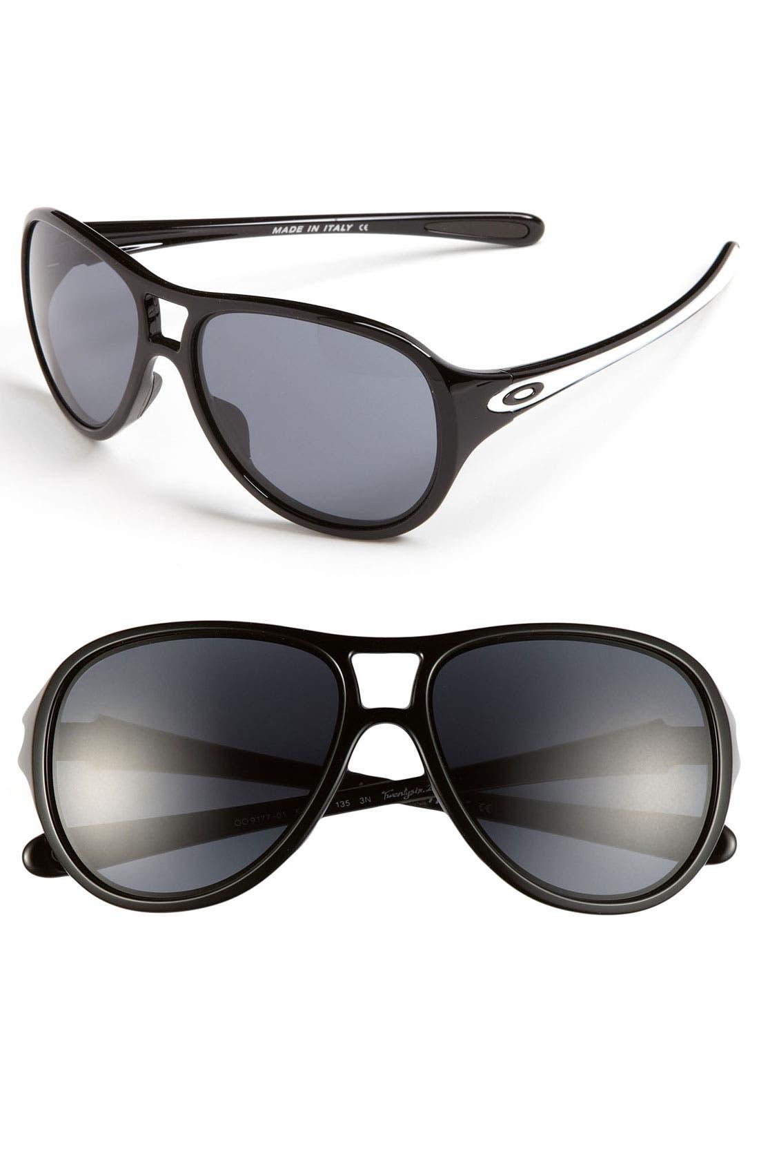 Alternate Image 1 Selected - Oakley 'Twentysix.2' 58mm Sunglasses