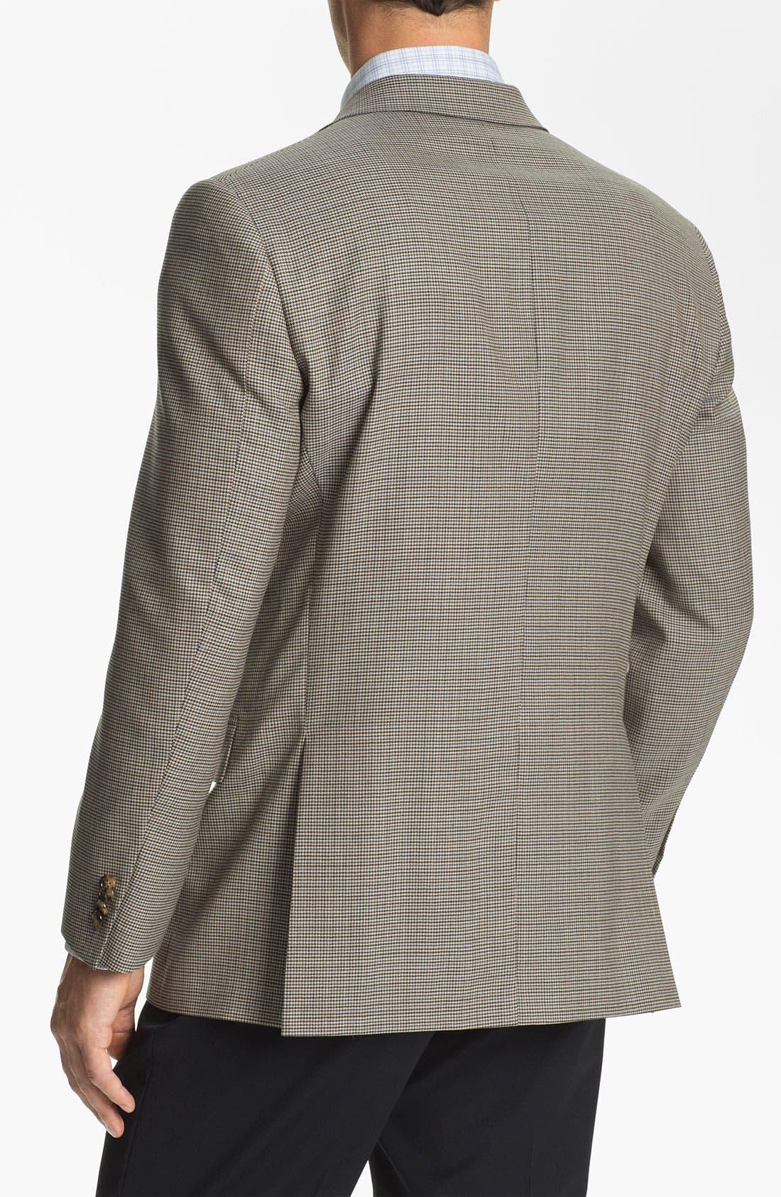 Alternate Image 2  - Hart Schaffner Marx Houndstooth Check Sportcoat (Big)