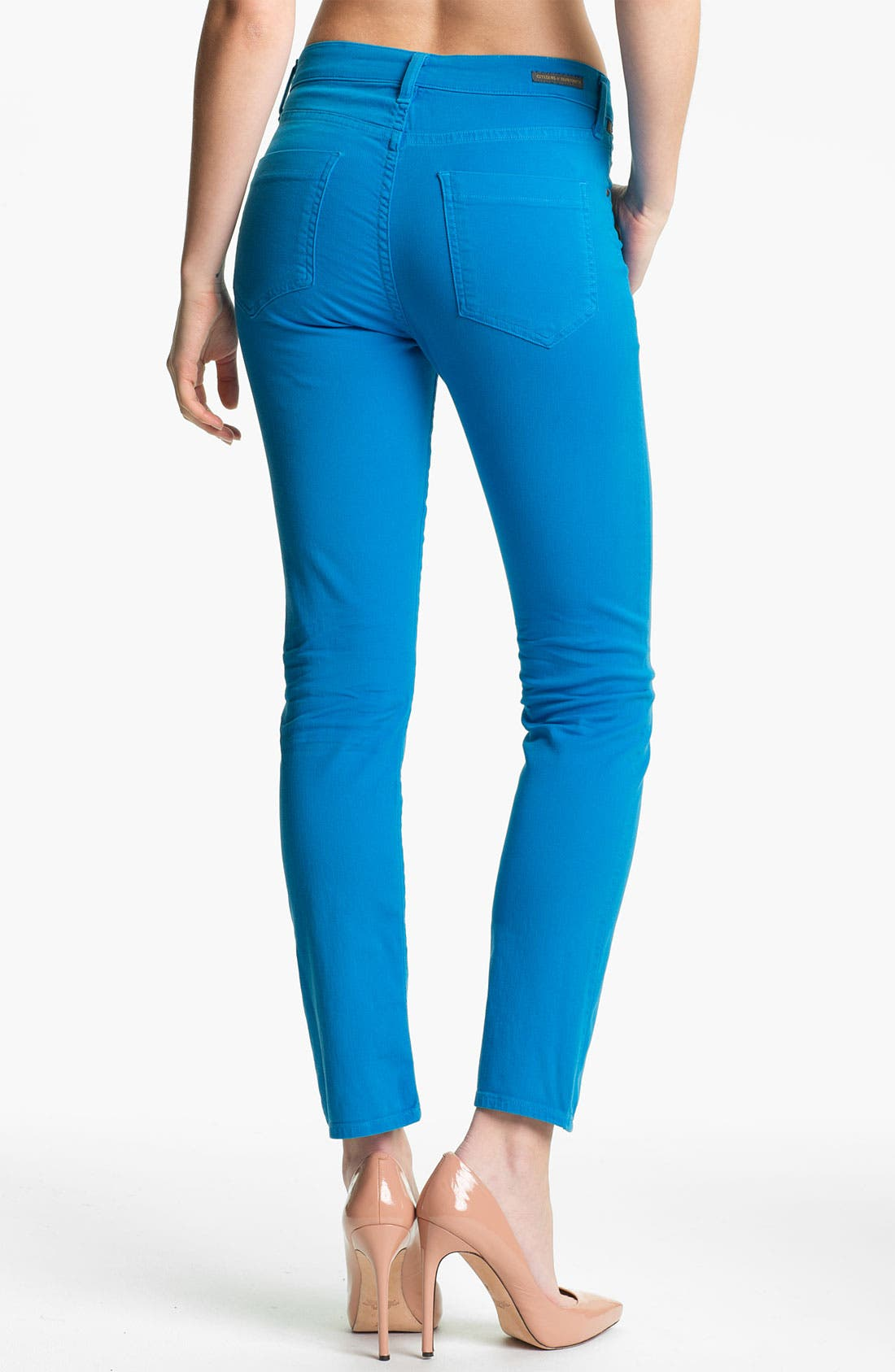 Alternate Image 2  - Citizens of Humanity 'Carlton' Crop Skinny Jeans (India Sky)