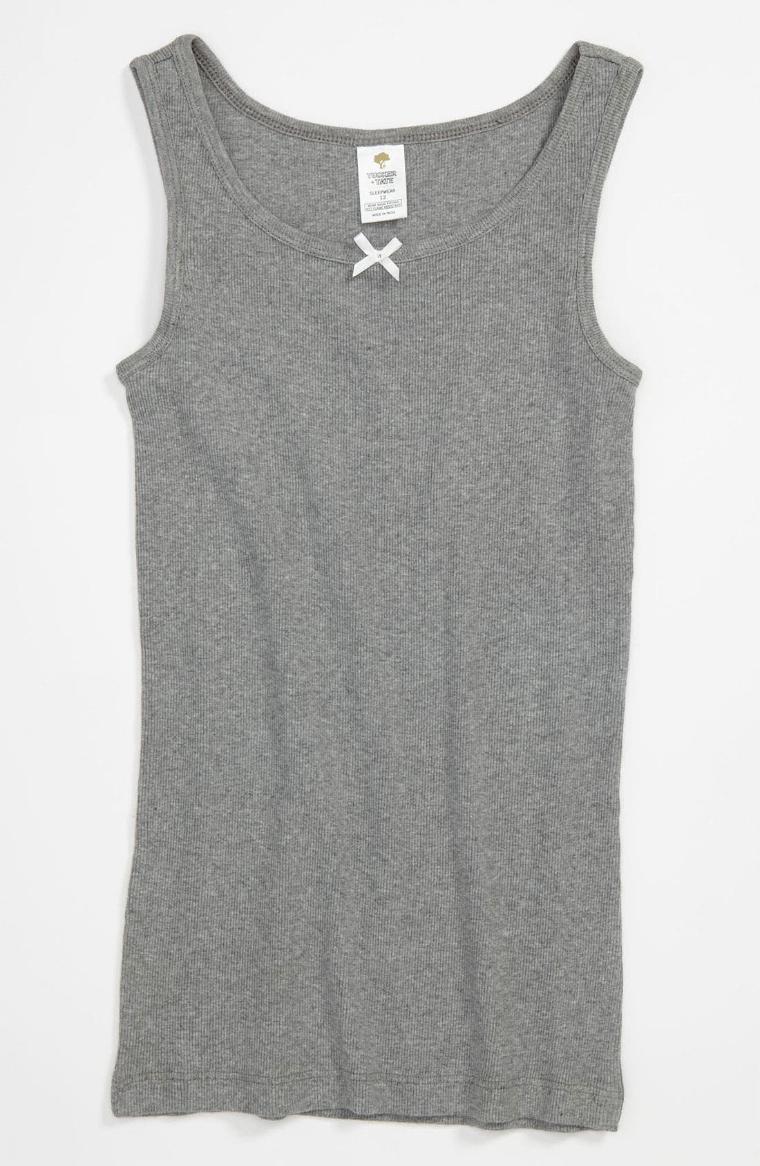 Alternate Image 1 Selected - Tucker + Tate Fitted Tank Top (Little Girls & Big Girls)