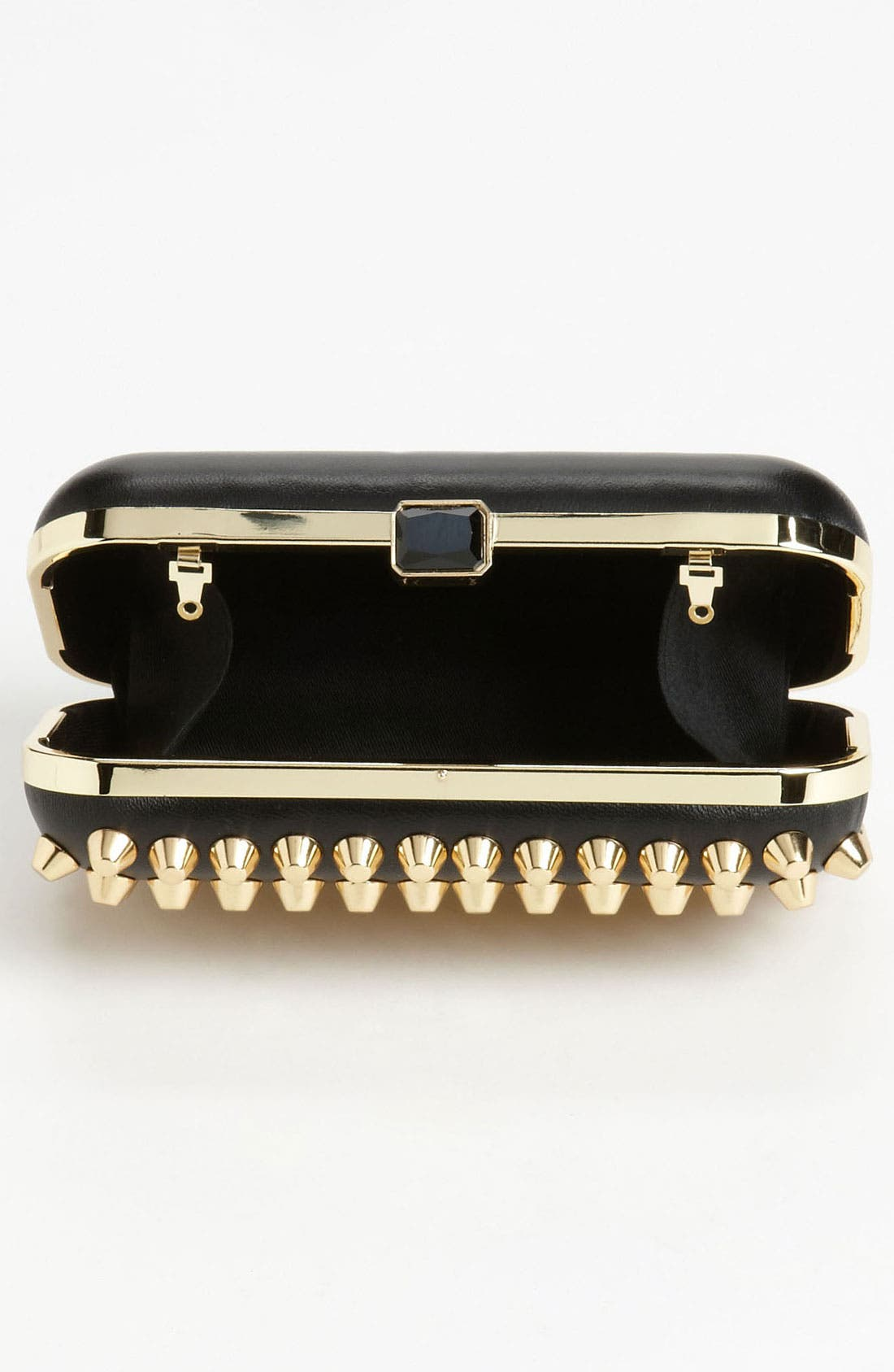 Alternate Image 3  - Natasha Couture Studded Clutch