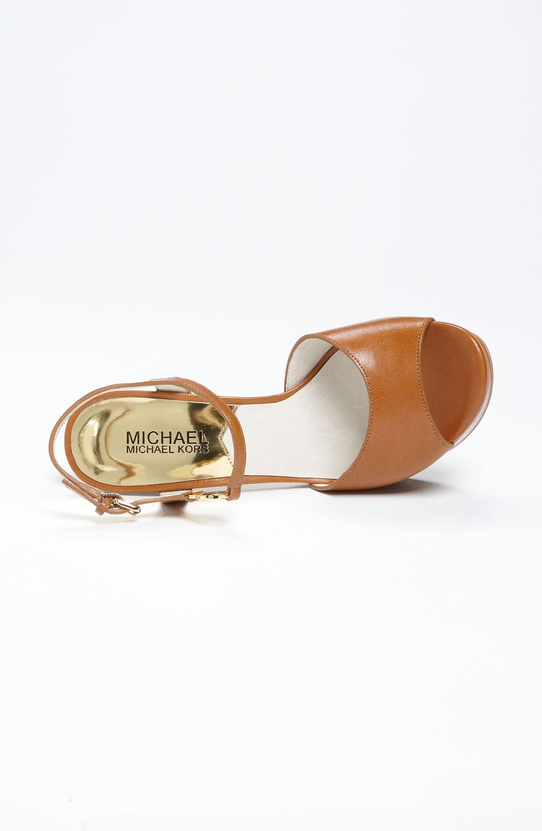 Alternate Image 3  - MICHAEL Michael Kors 'Brayson' Sandal
