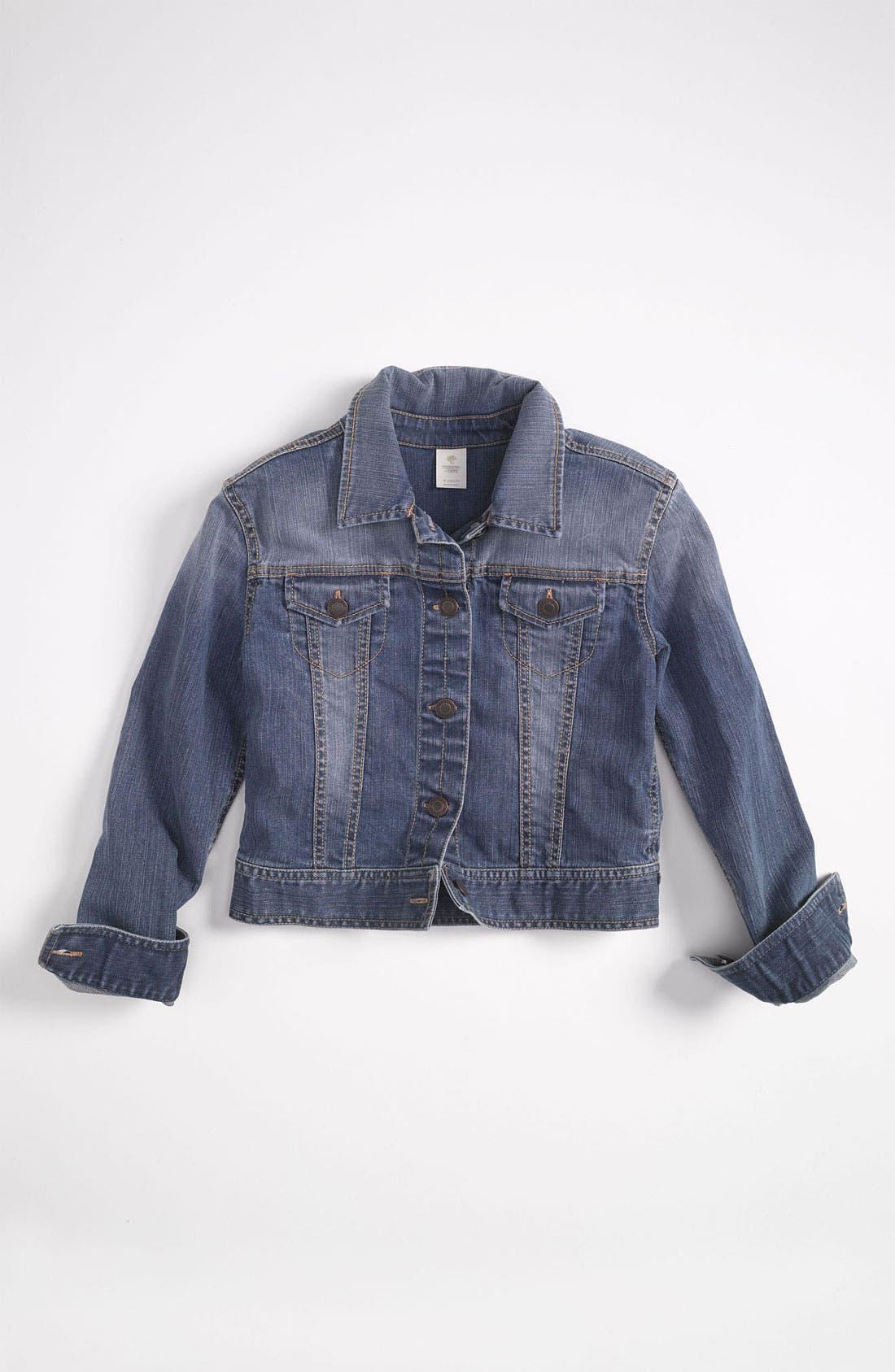 Denim Jacket,                         Main,                         color, Brooke Wash