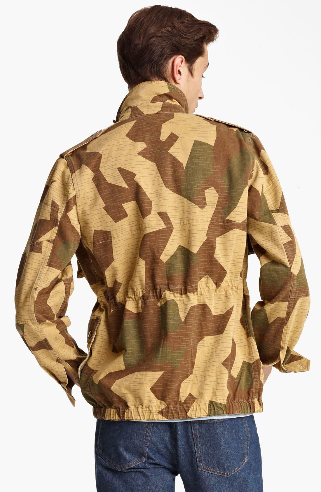 Alternate Image 2  - A.P.C. Camo Coat