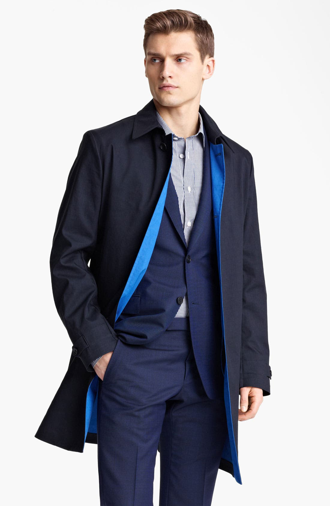 Alternate Image 1 Selected - Z Zegna Raincoat