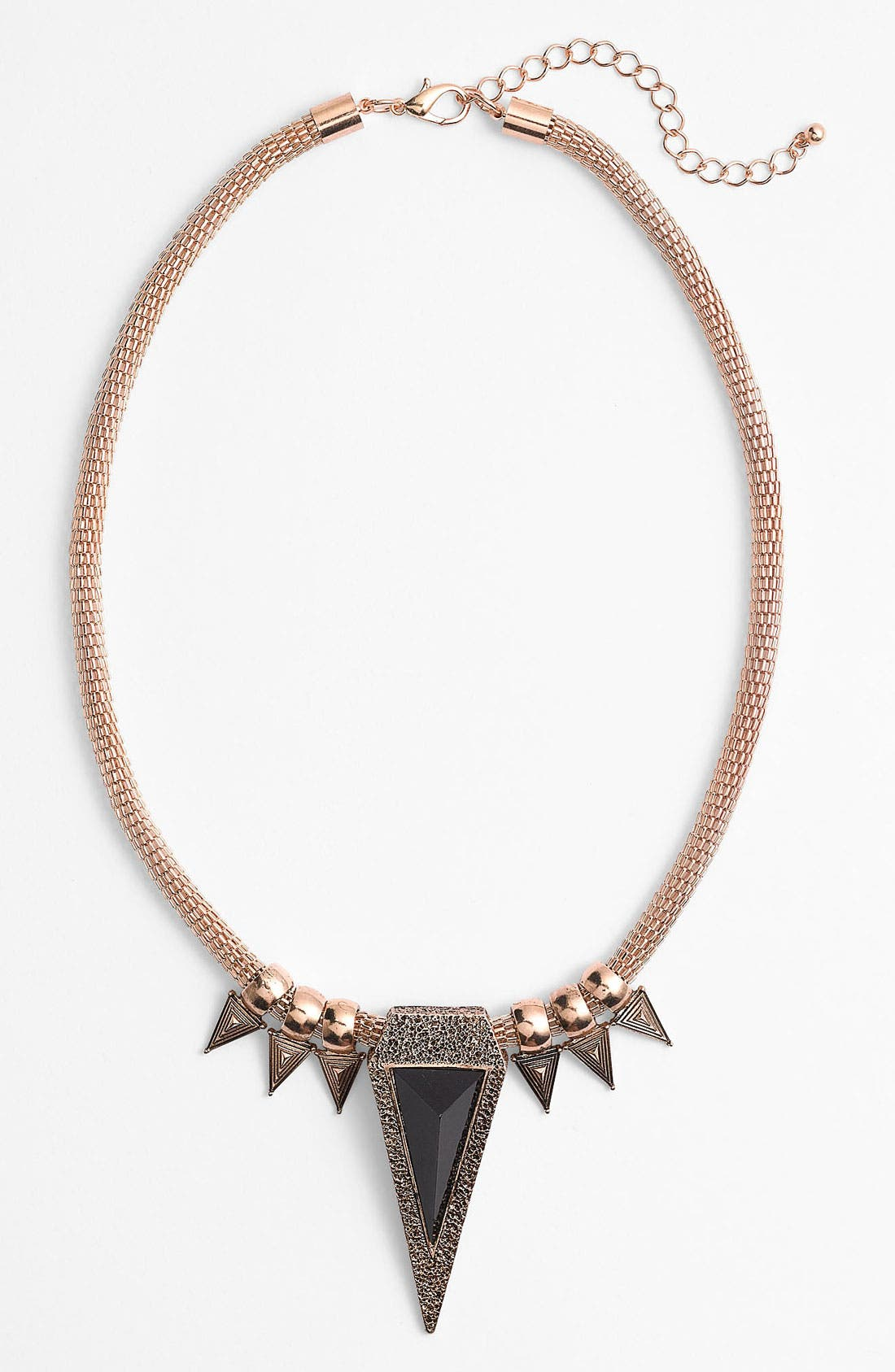 Alternate Image 1 Selected - Guinevere Triangle Statement Necklace