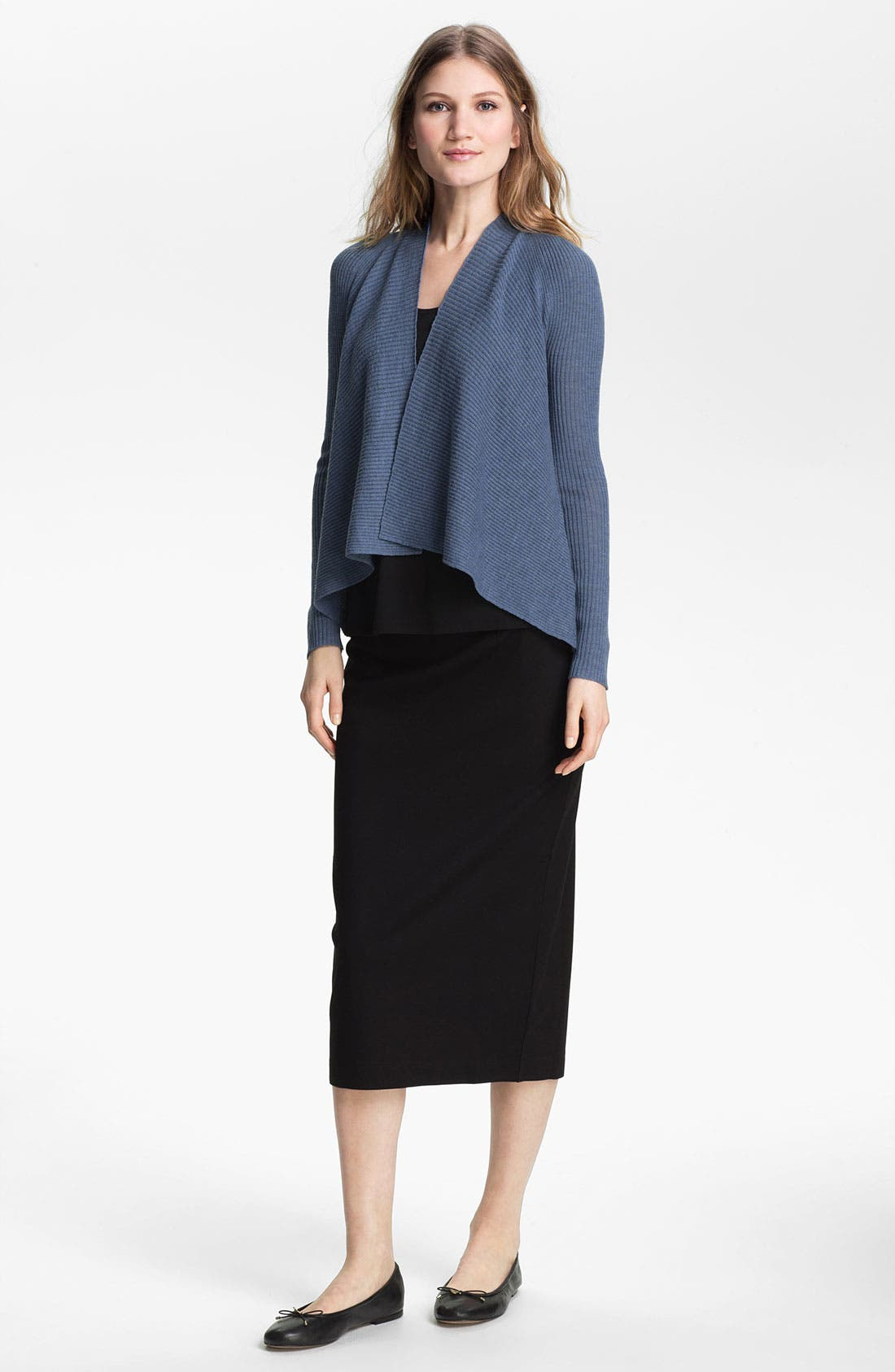 Alternate Image 4  - Eileen Fisher Short Cardigan (Petite)