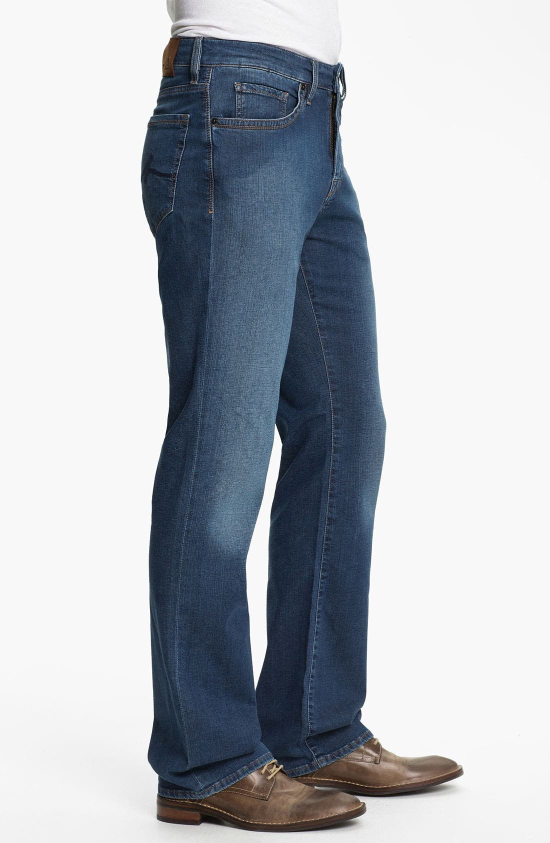 Alternate Image 3  - 34 Heritage 'Confidence' Relaxed Leg Jeans (Mid Cashmere) (Online Only)