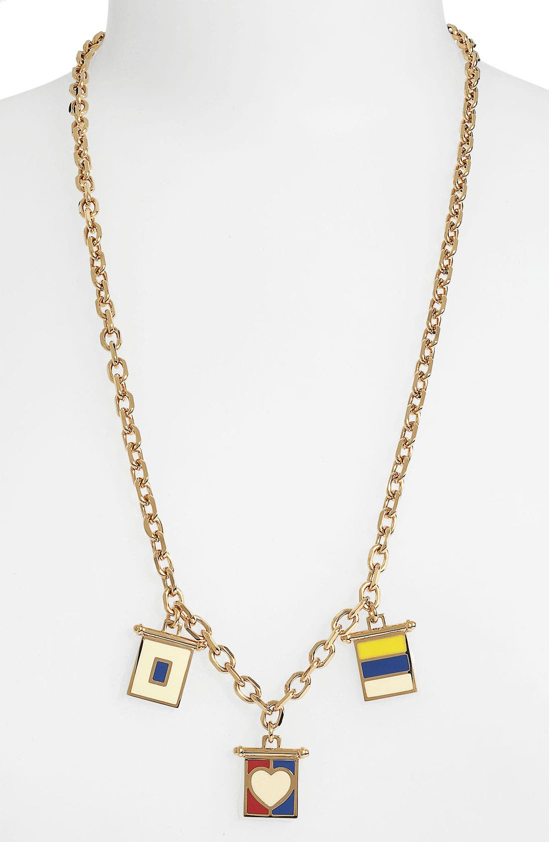Alternate Image 2  - Tory Burch 'Ahoy' Cluster Pendant Necklace