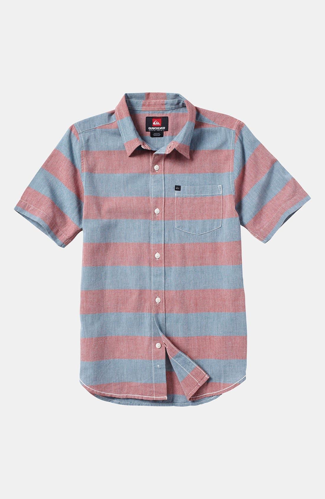 Main Image - Quiksilver 'Tube Prison' Woven Shirt (Big Boys)