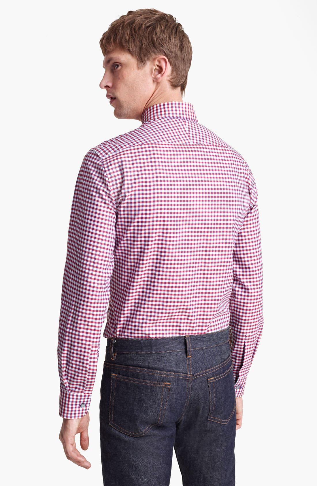 Alternate Image 2  - Paul Smith London Multi Gingham Shirt