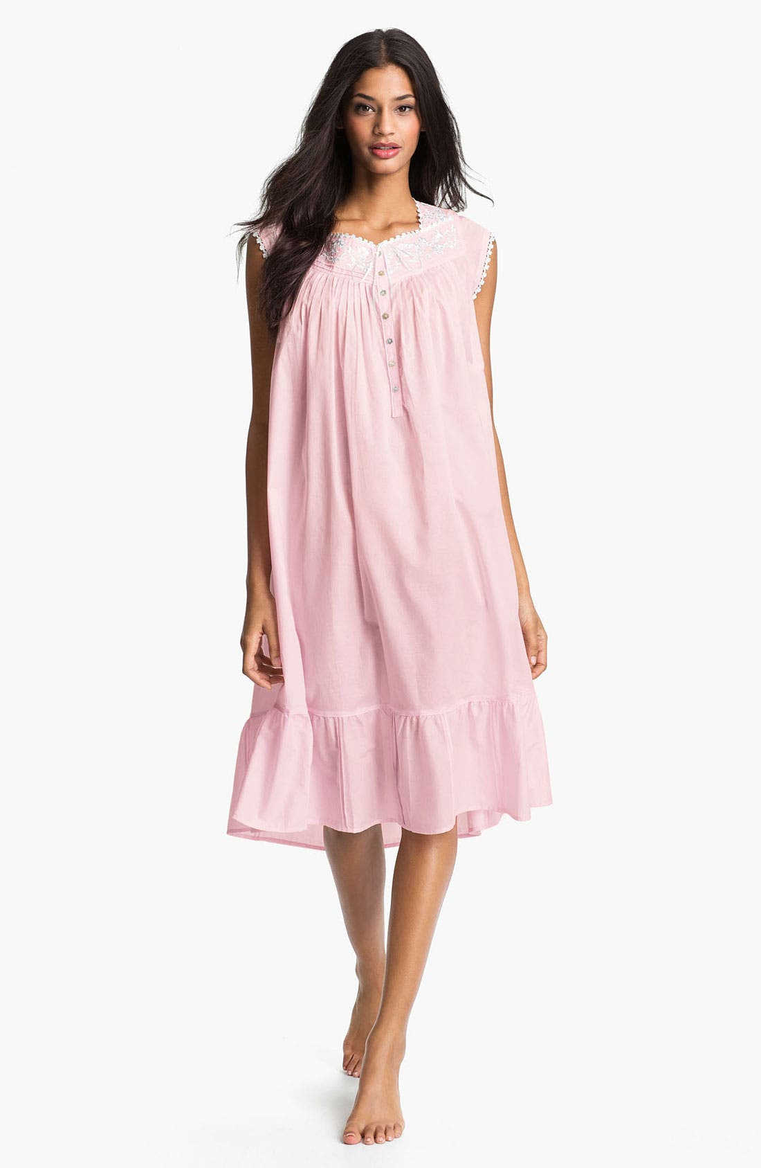 Main Image - Eileen West 'Enchanted Forest' Short Nightgown