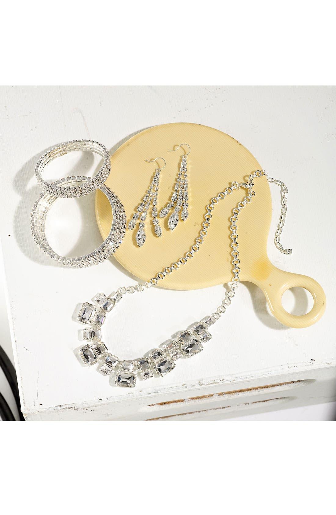 Alternate Image 2  - Rosa Crystal Collection Jewelry Stretch Bracelet