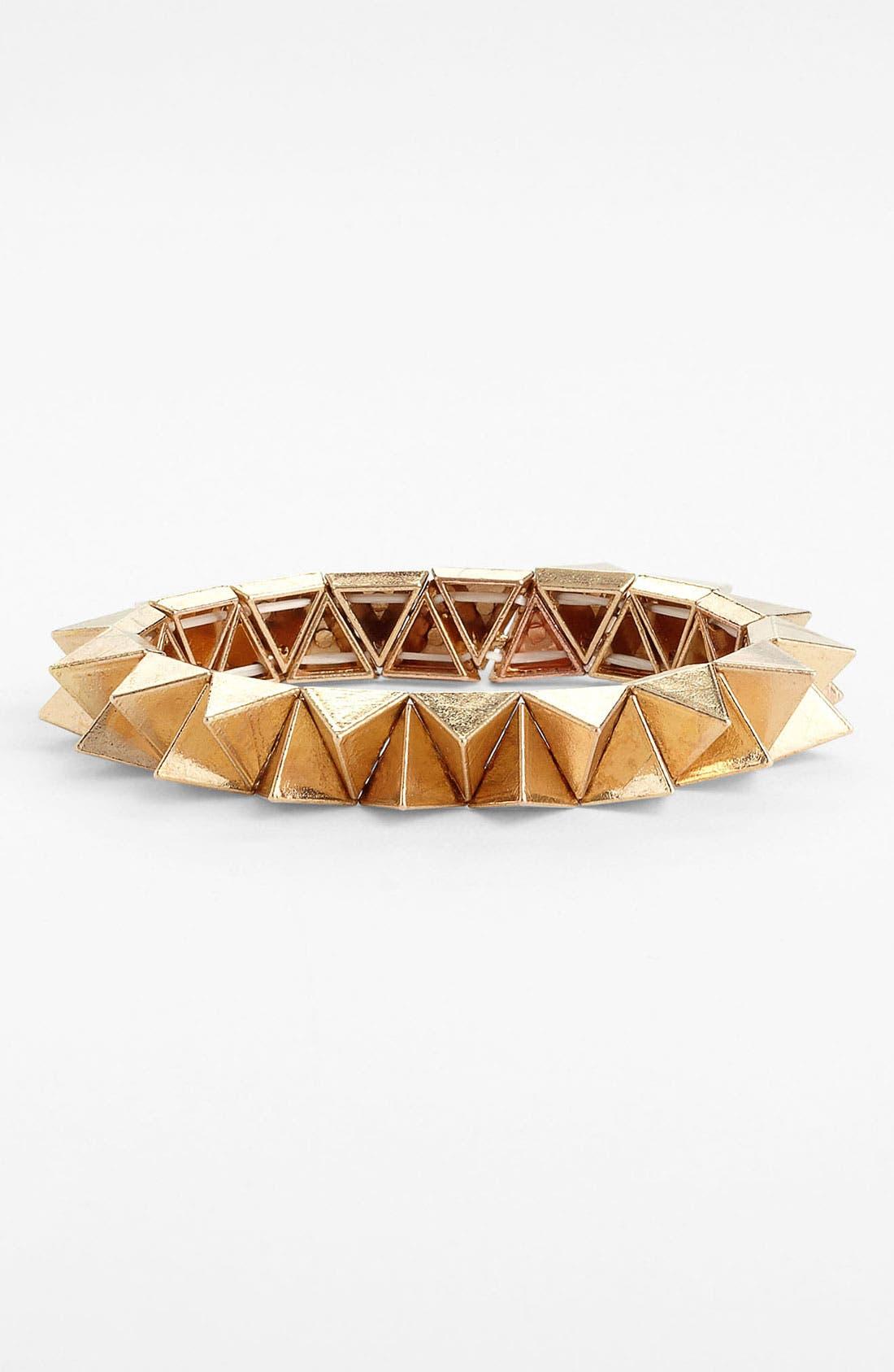 Alternate Image 1 Selected - Carole Spike Stretch Bracelet
