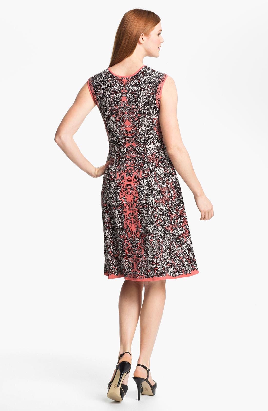 Alternate Image 2  - Nic + Zoe 'Peeking Out' Print Dress