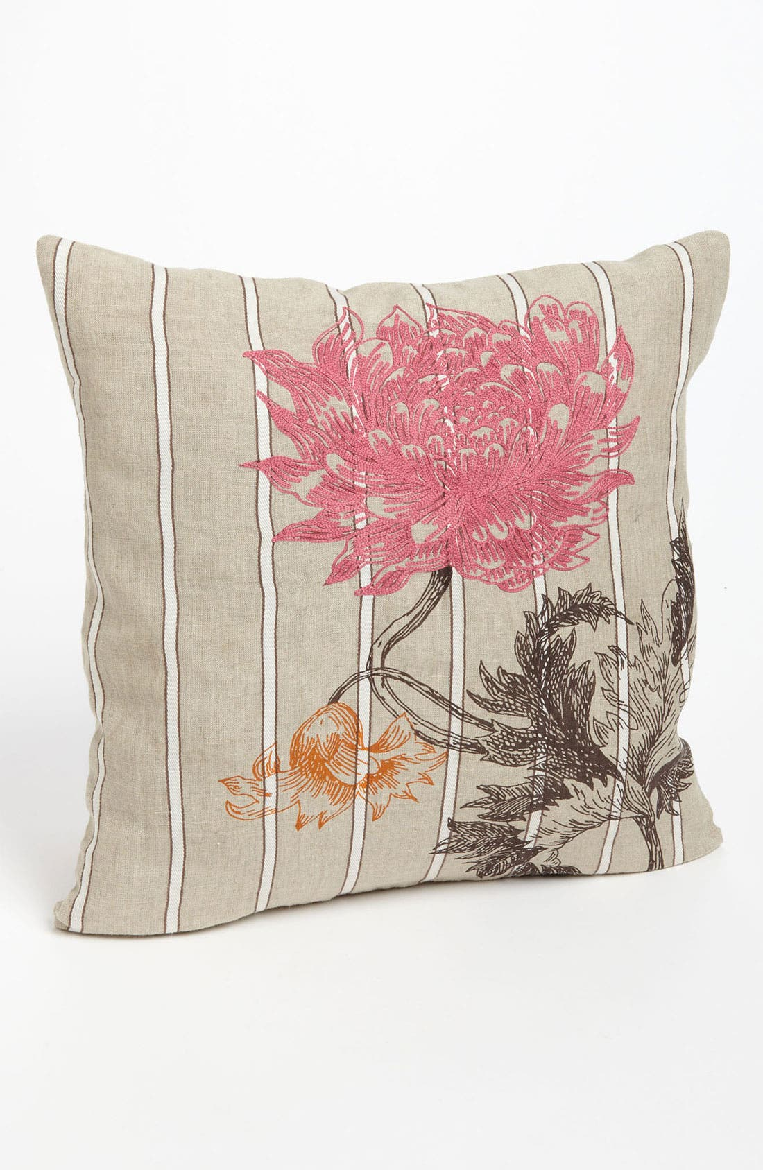 Alternate Image 1 Selected - Villa Home Collection 'Arcadia' Embroidered Floral Pillow
