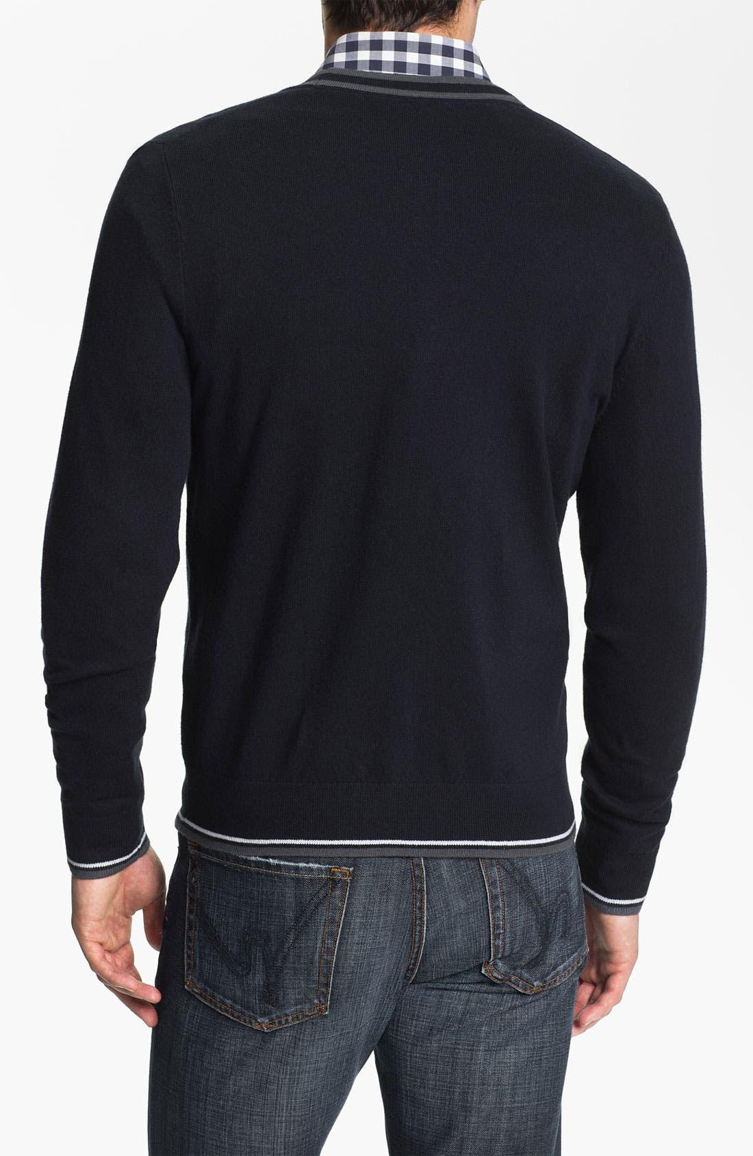 Alternate Image 2  - Calibrate 'Demuth' Cashmere Blend Button Cardigan