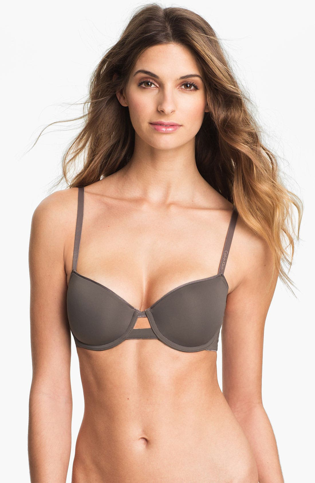 Main Image - Calvin Klein 'Seductive Comfort' Underwire Balconette Bra