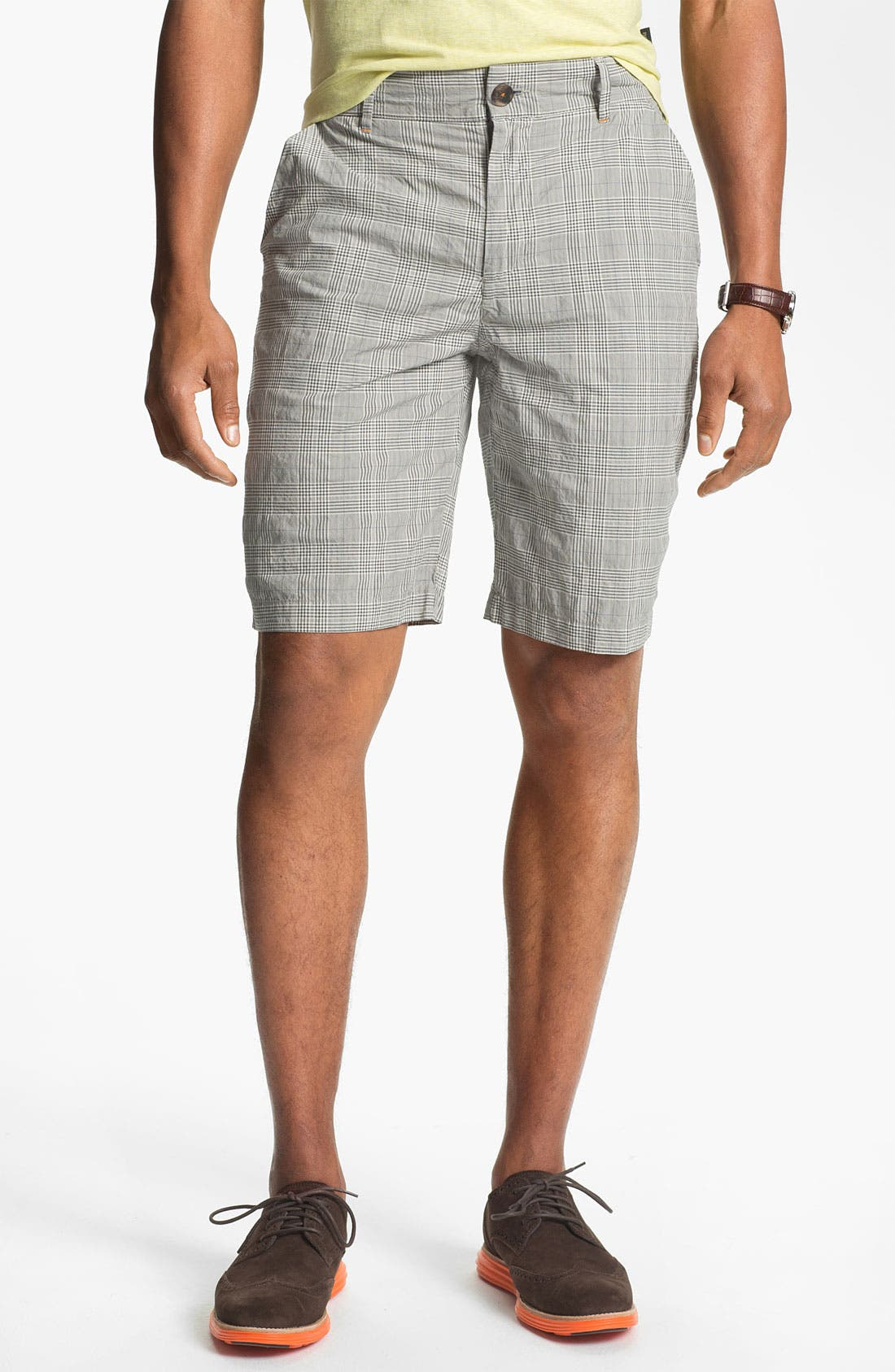 Main Image - W.R.K 'Gibson' Flat Front Shorts