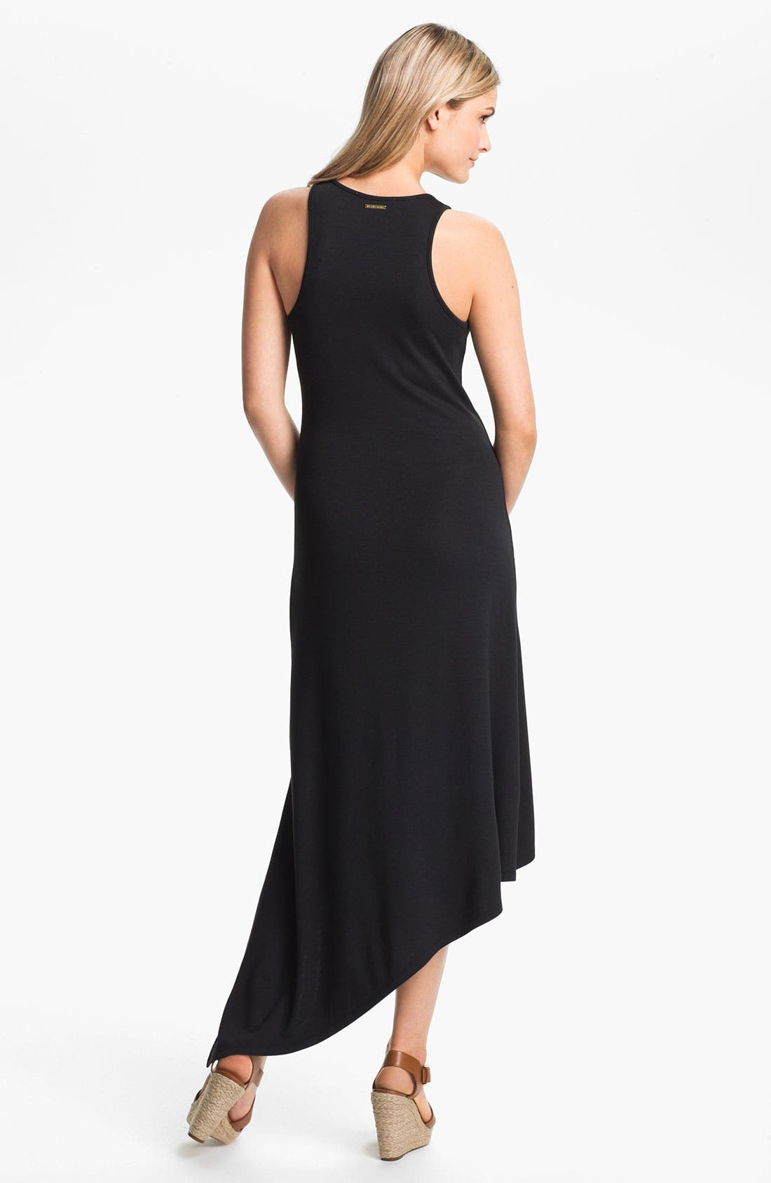Alternate Image 2  - MICHAEL Michael Kors Asymmetrical Hem Dress