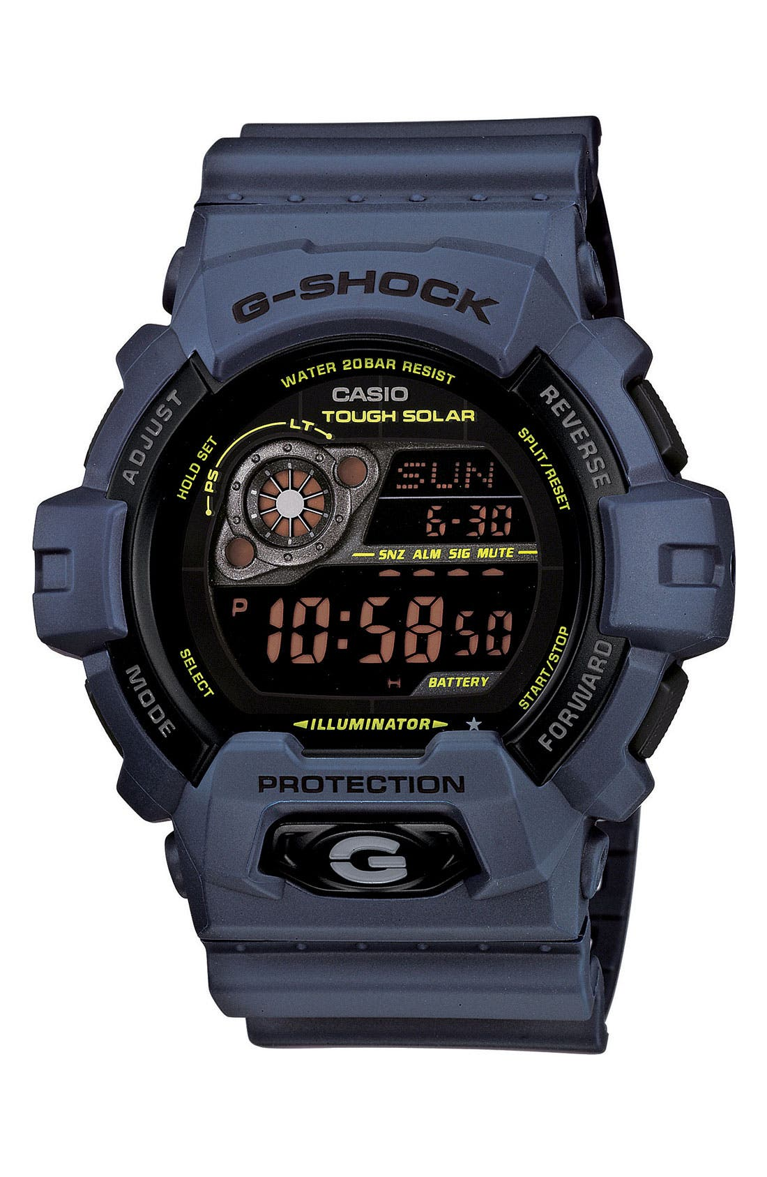 Main Image - G-Shock 'X-Large - Solar' Digital Watch, 52mm