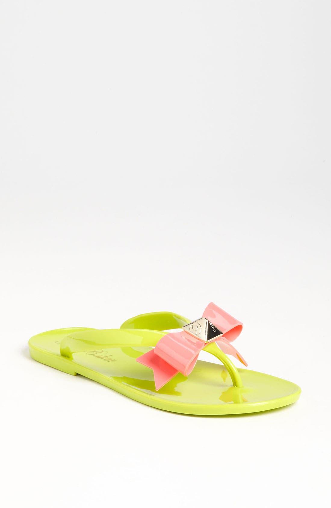 Alternate Image 1 Selected - Ted Baker London 'Polee' Flip Flop
