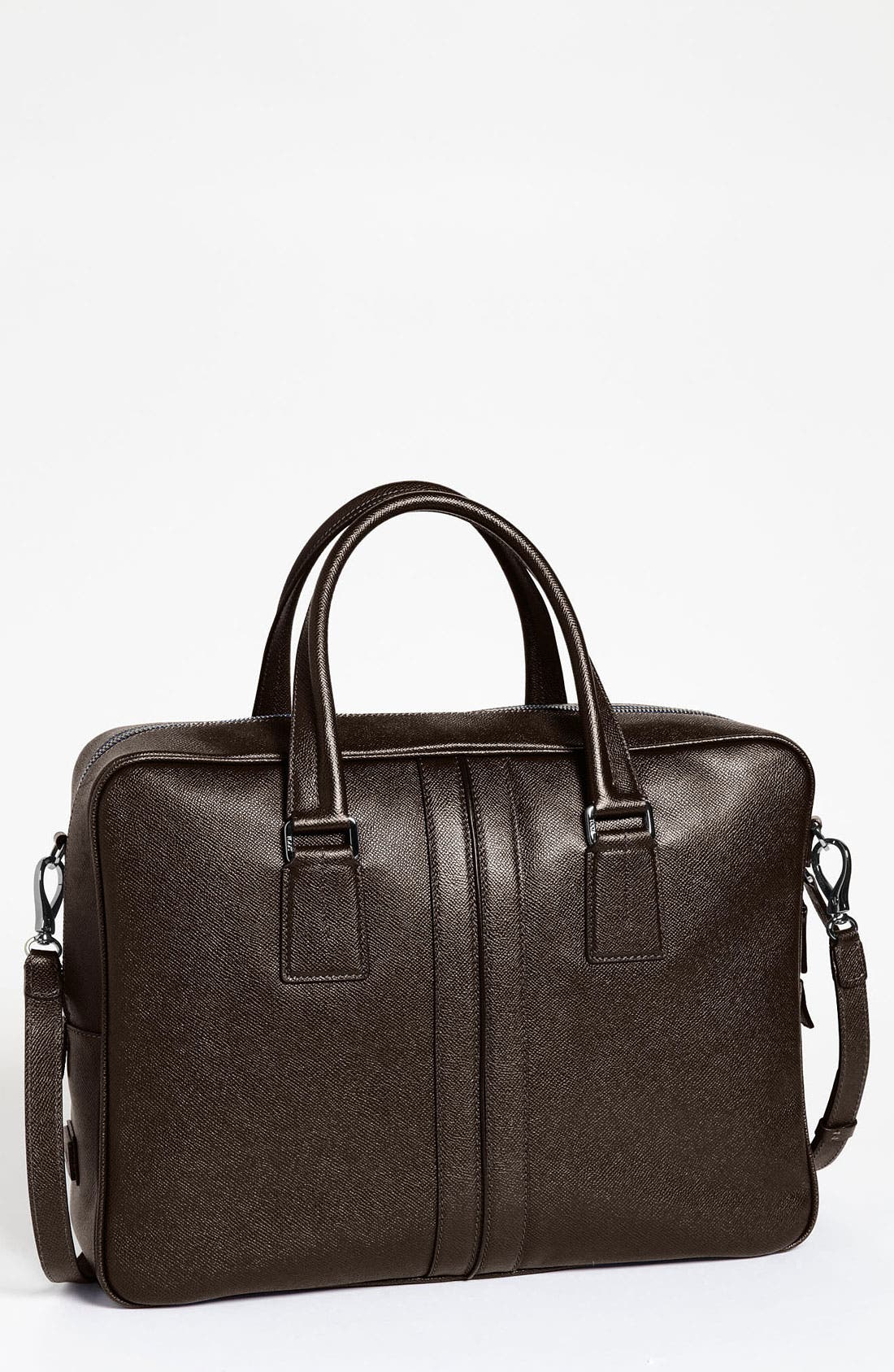 Alternate Image 1 Selected - Tod's Textured Leather Briefcase