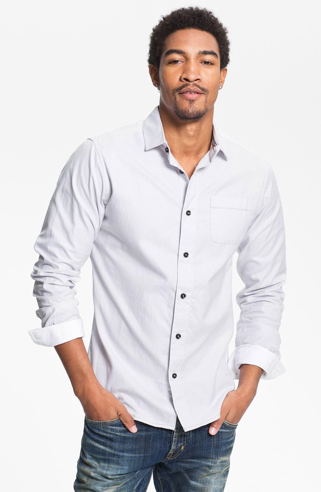 Alternate Image 1 Selected - Descendant of Thieves 'Corona' Woven Shirt