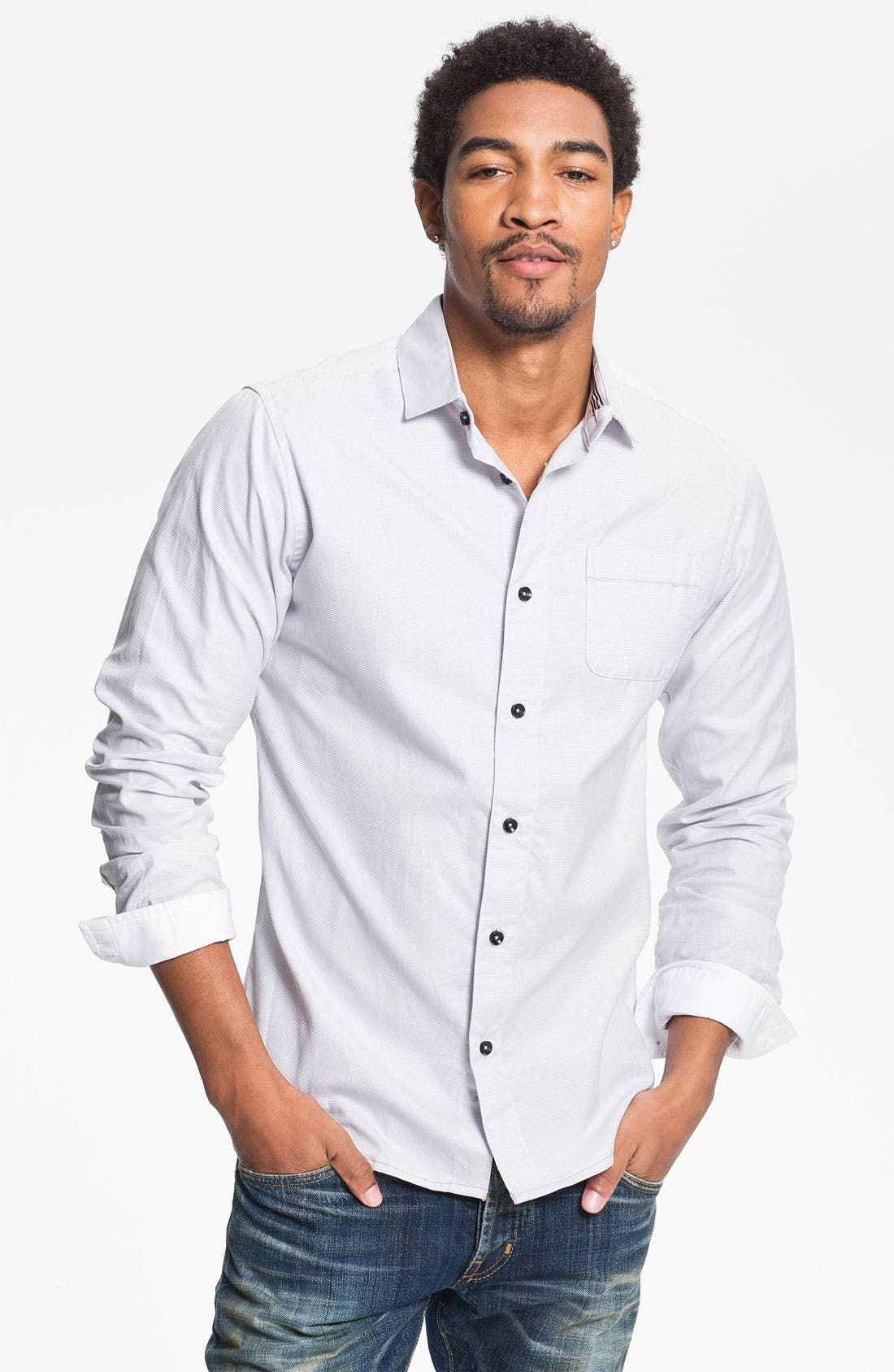 Main Image - Descendant of Thieves 'Corona' Woven Shirt