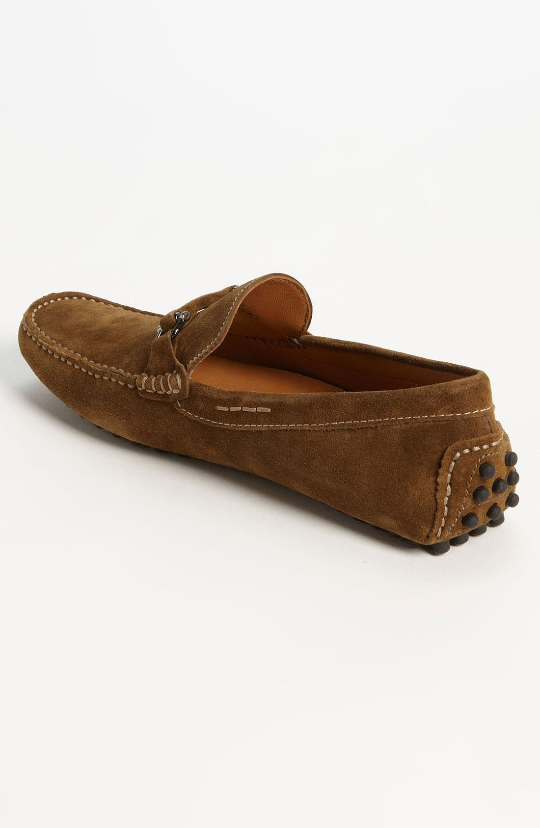 'Antigua' Driving Shoe,                             Alternate thumbnail 2, color,                             Tobacco Suede