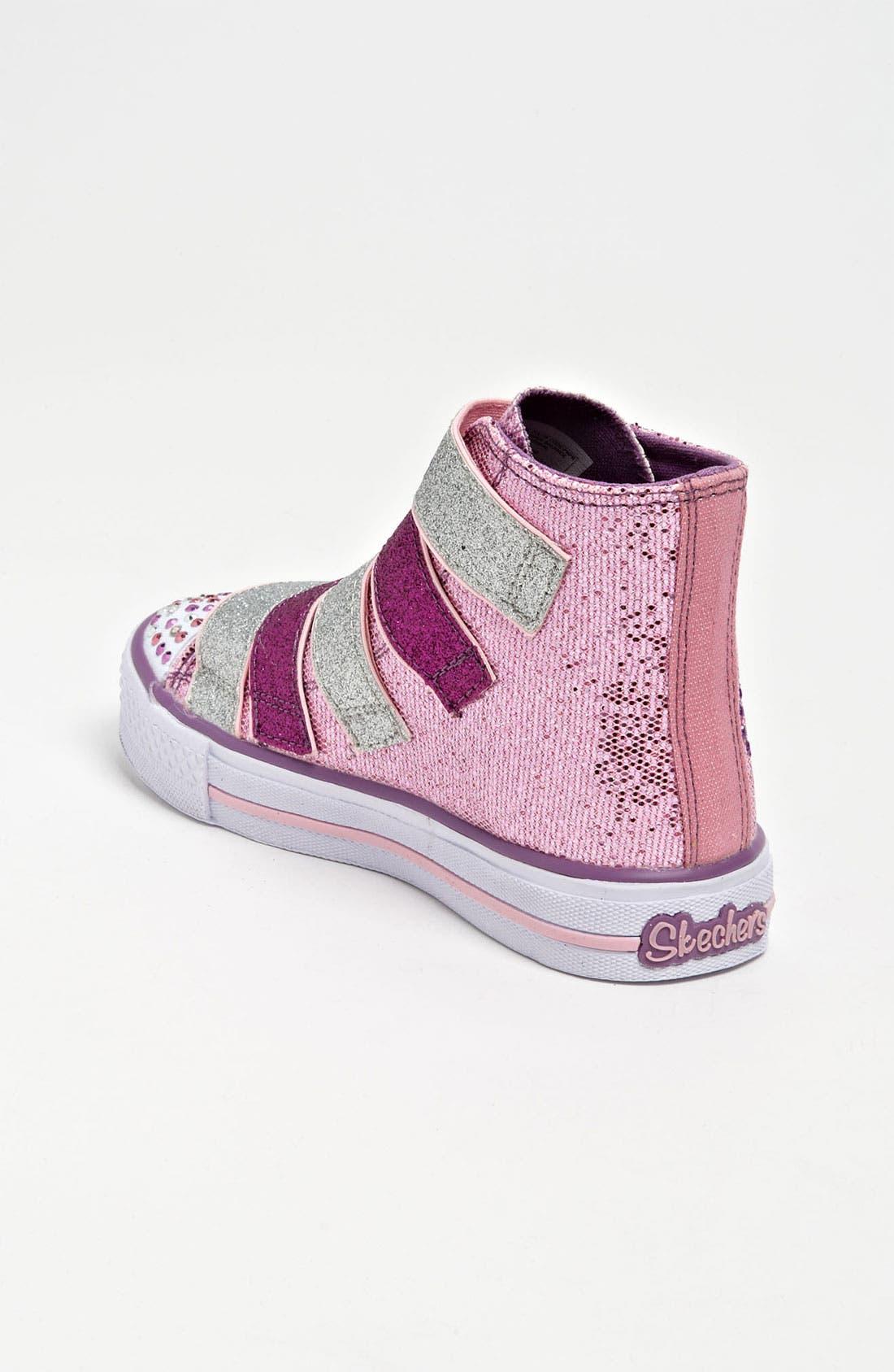 Alternate Image 2  - SKECHERS 'Shuffles S Lights -  5 Alive' Sneaker (Toddler & Little Kid)
