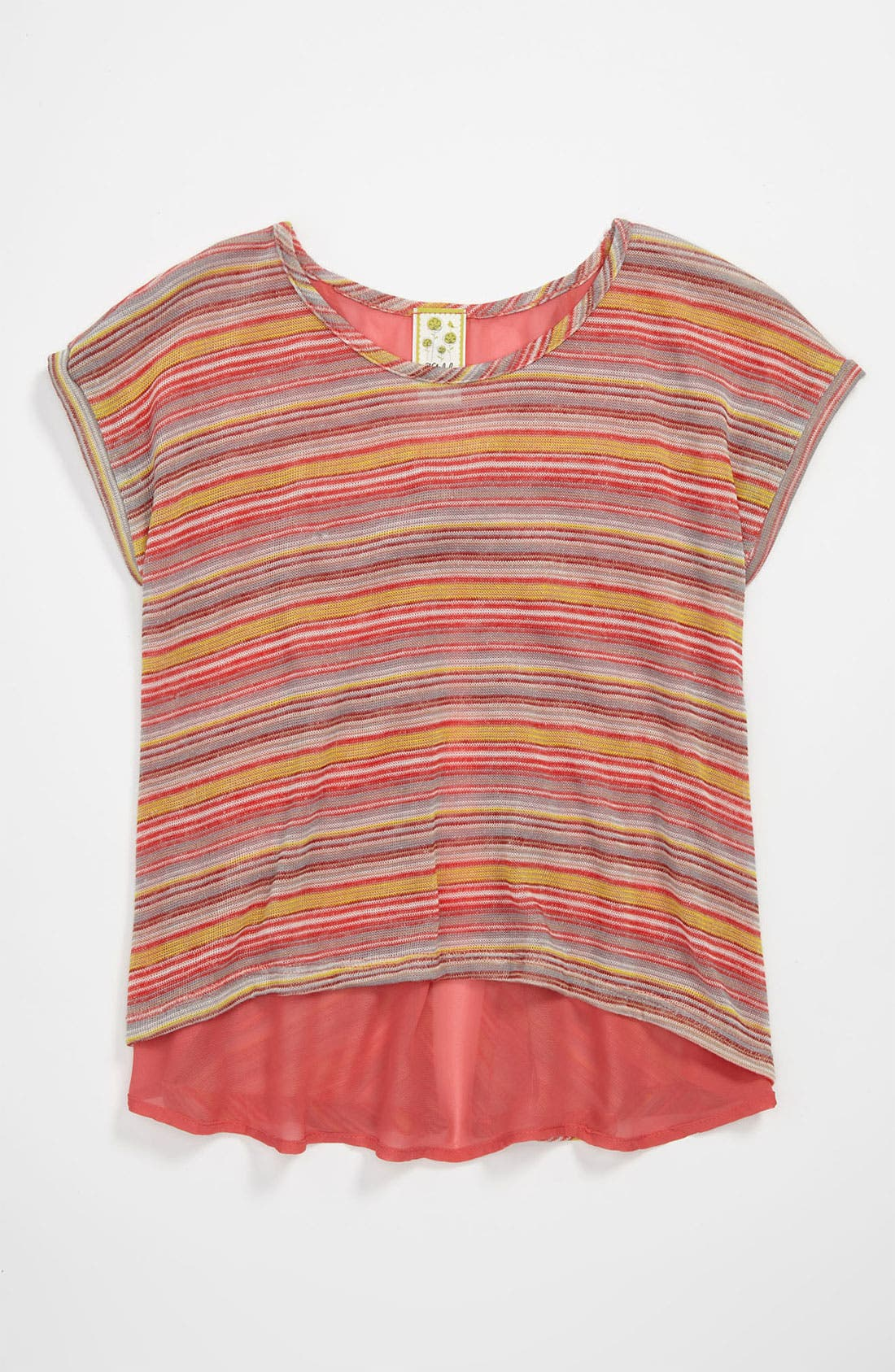 Alternate Image 1 Selected - Kiddo Stripe Top (Little Girls)