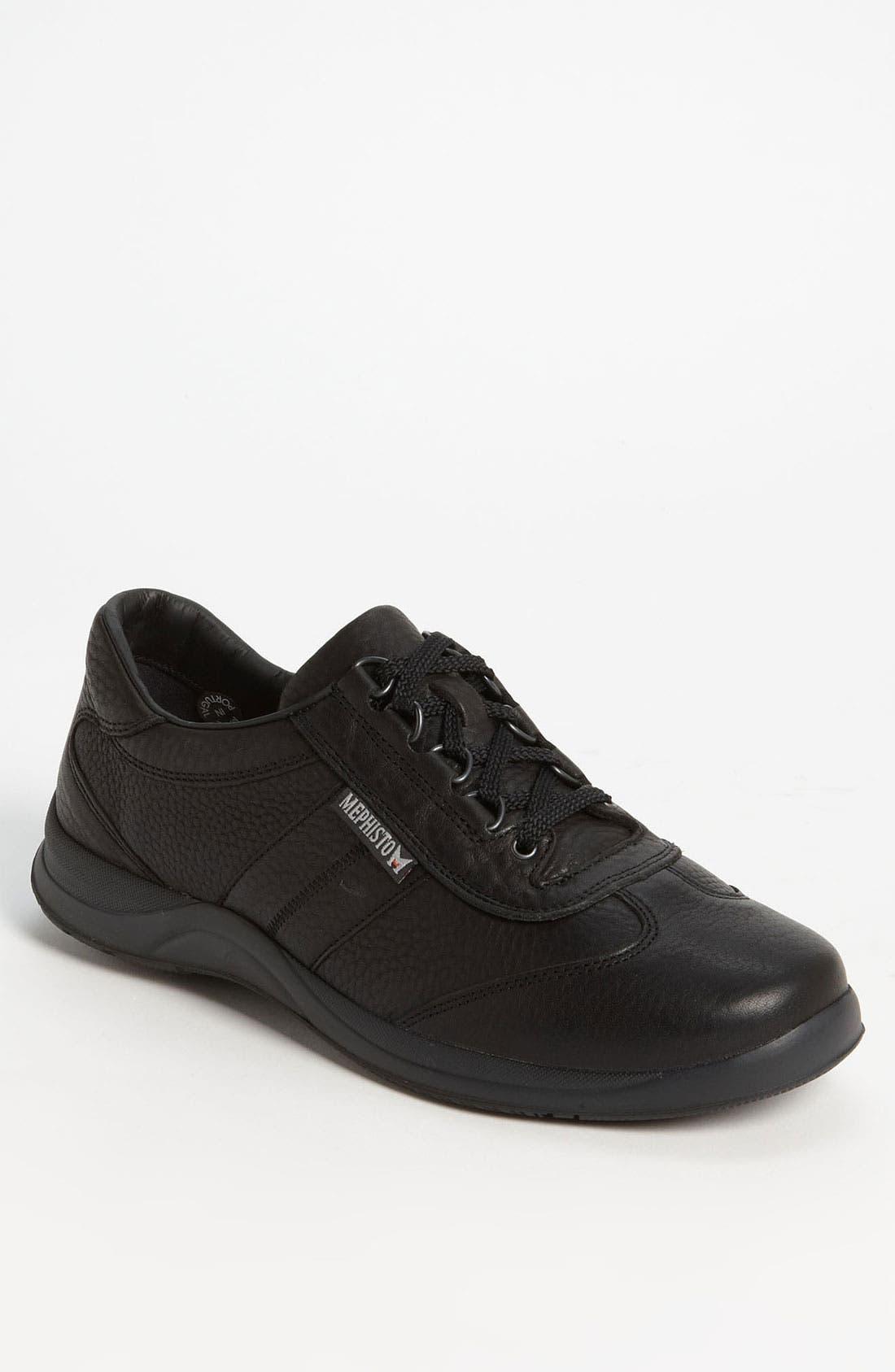 'Hike' Walking Shoe,                         Main,                         color, Black Wildskin