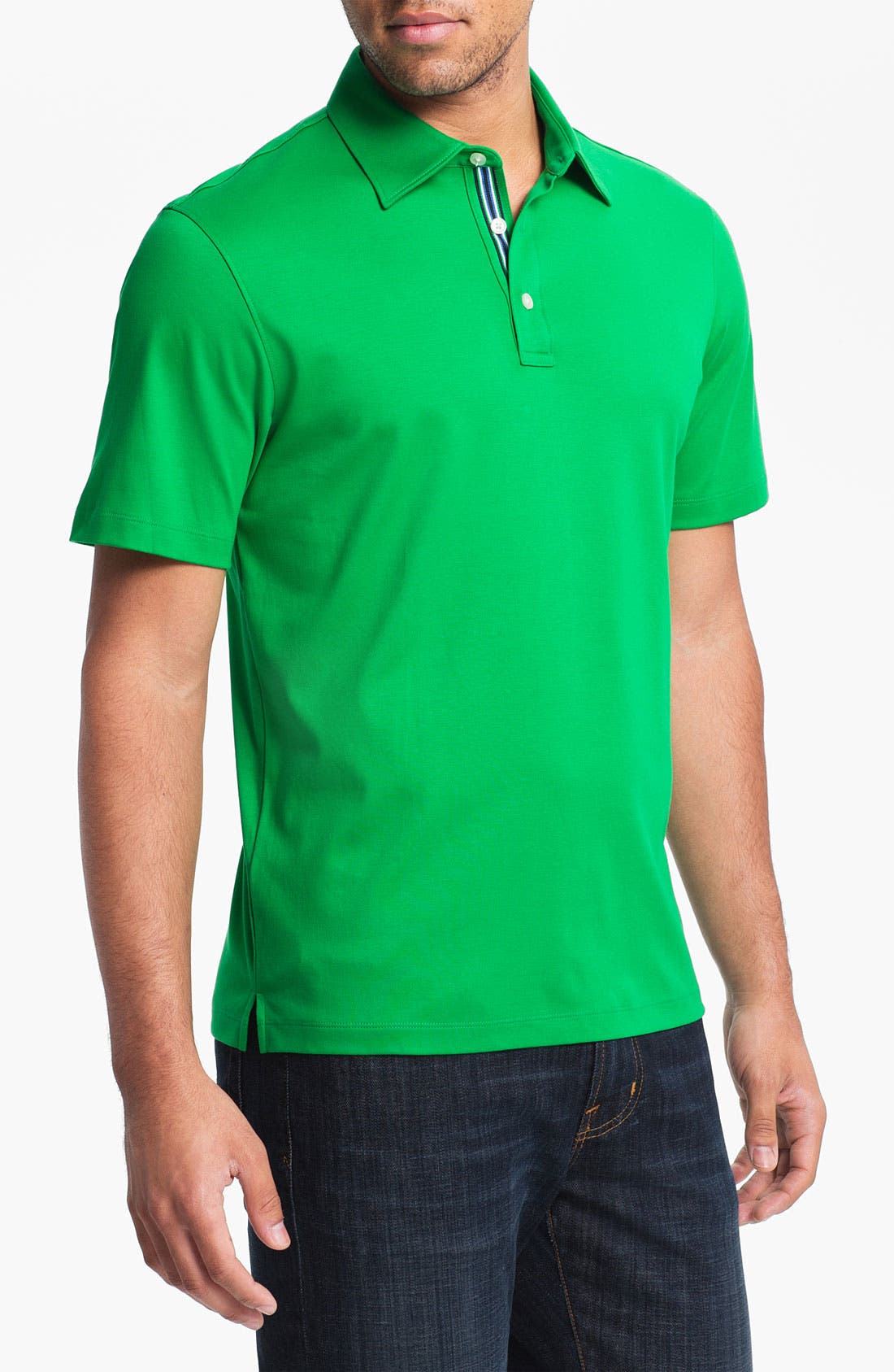 Alternate Image 1 Selected - Michael Kors Trim Fit Polo