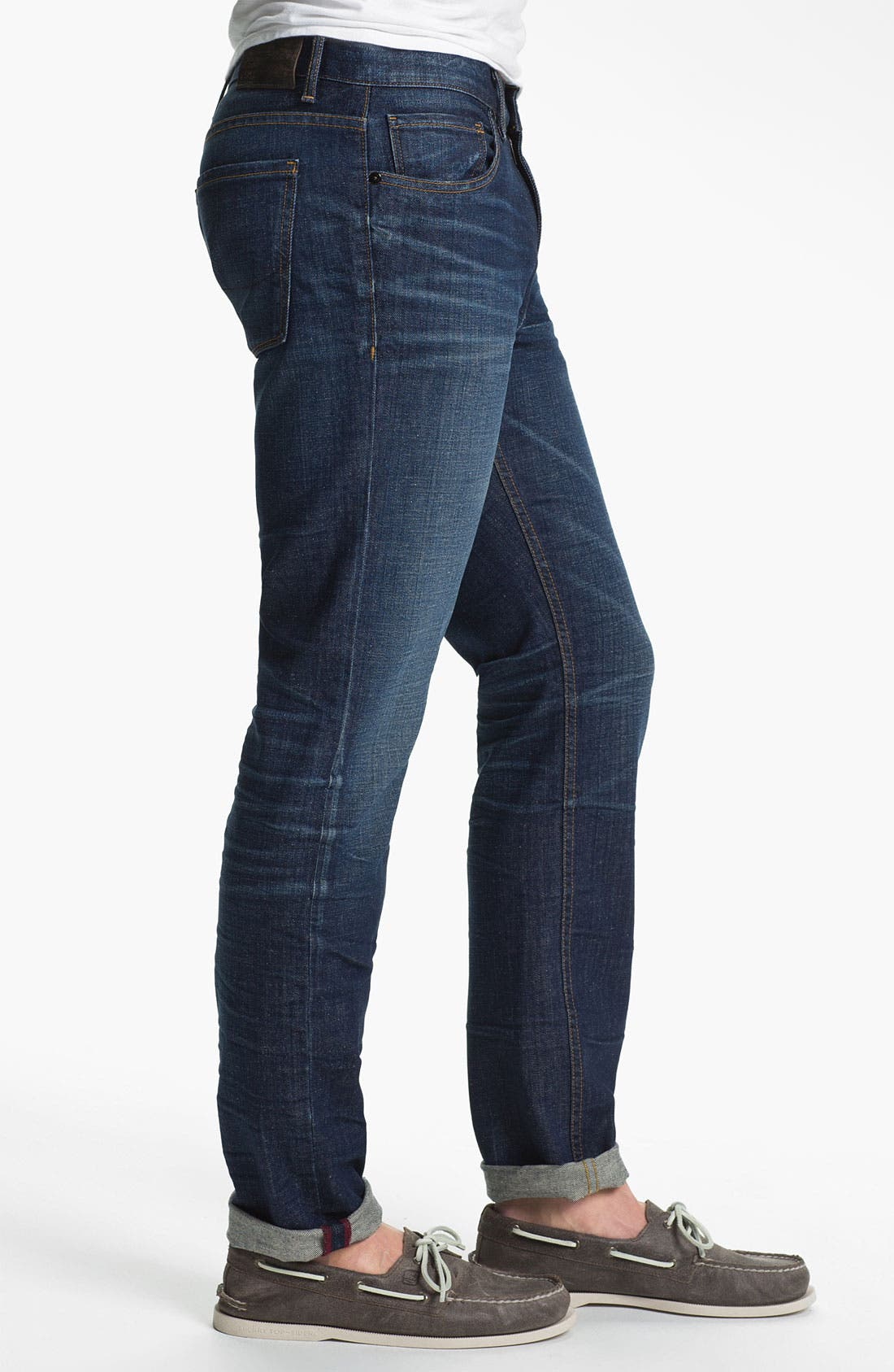 Alternate Image 3  - PAIGE 'Federal' Slim Straight Leg Jeans (Shoreman)