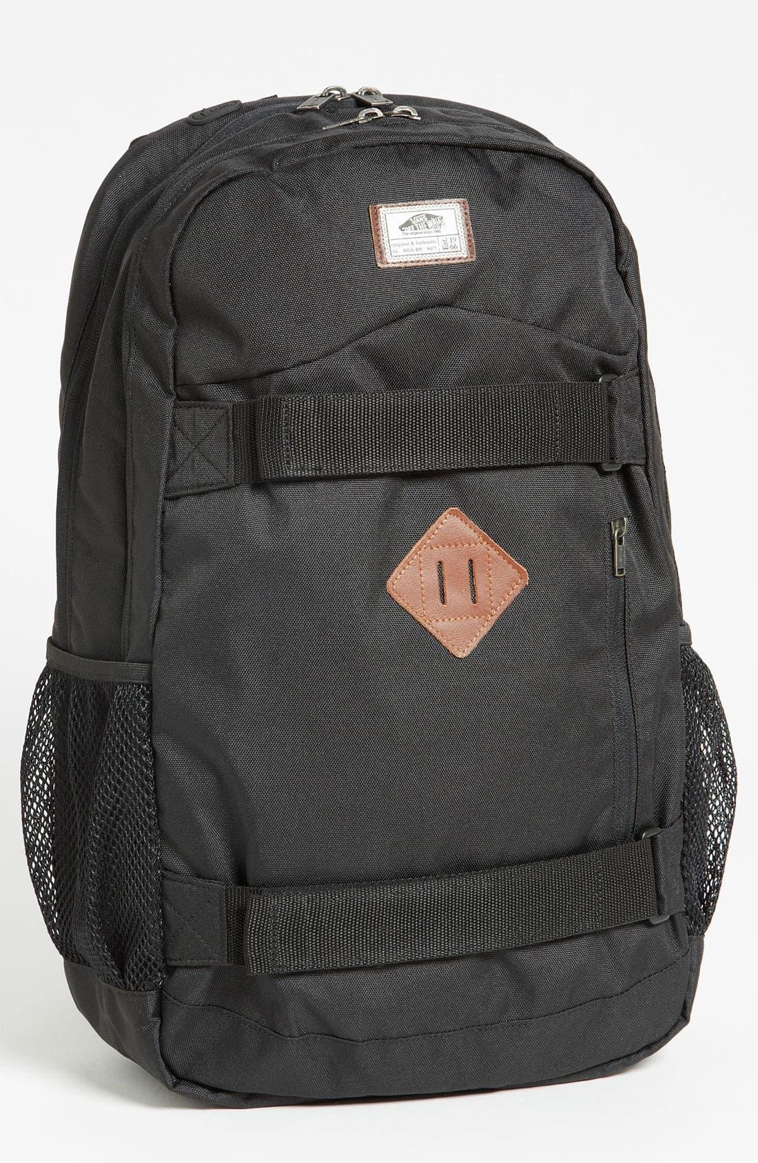 Alternate Image 1 Selected - Vans 'Skatepack' Backpack