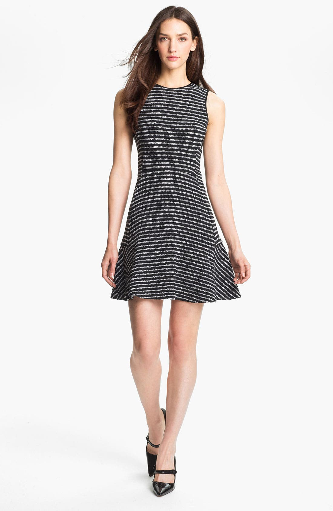 Alternate Image 1 Selected - Theory 'Nikay' Cotton Blend A-Line Dress