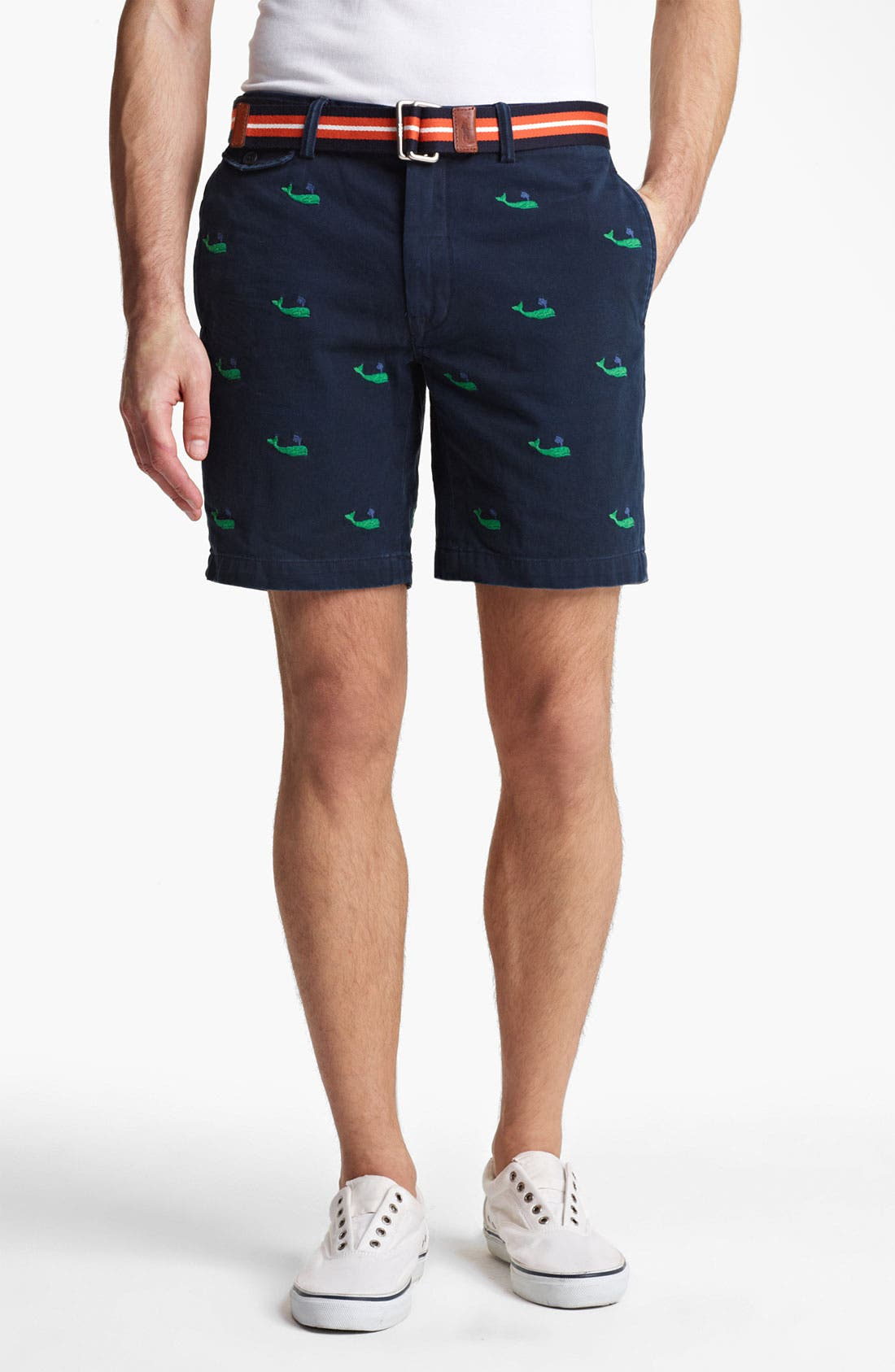 Alternate Image 1 Selected - Polo Ralph Lauren 'Officer's' Chino Shorts