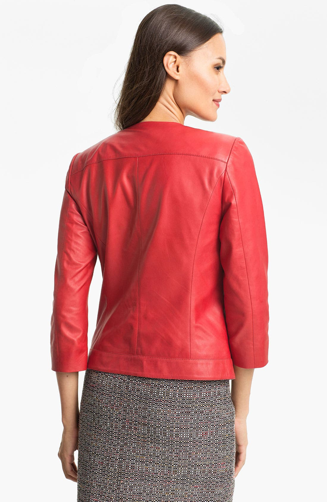 Alternate Image 2  - Classiques Entier Lambskin Leather Jacket