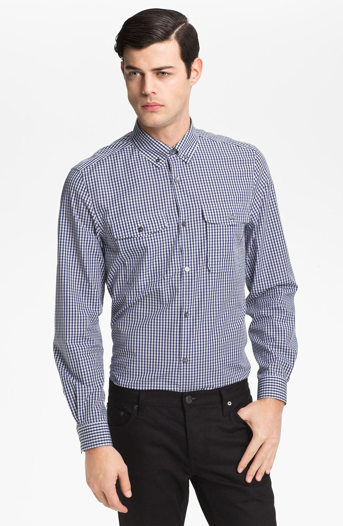Alternate Image 1 Selected - Burberry London 'Newforth' Woven Shirt
