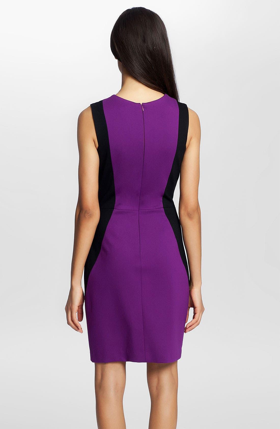 Alternate Image 2  - Cynthia Steffe 'Aubrey' Colorblock Ponte Dress