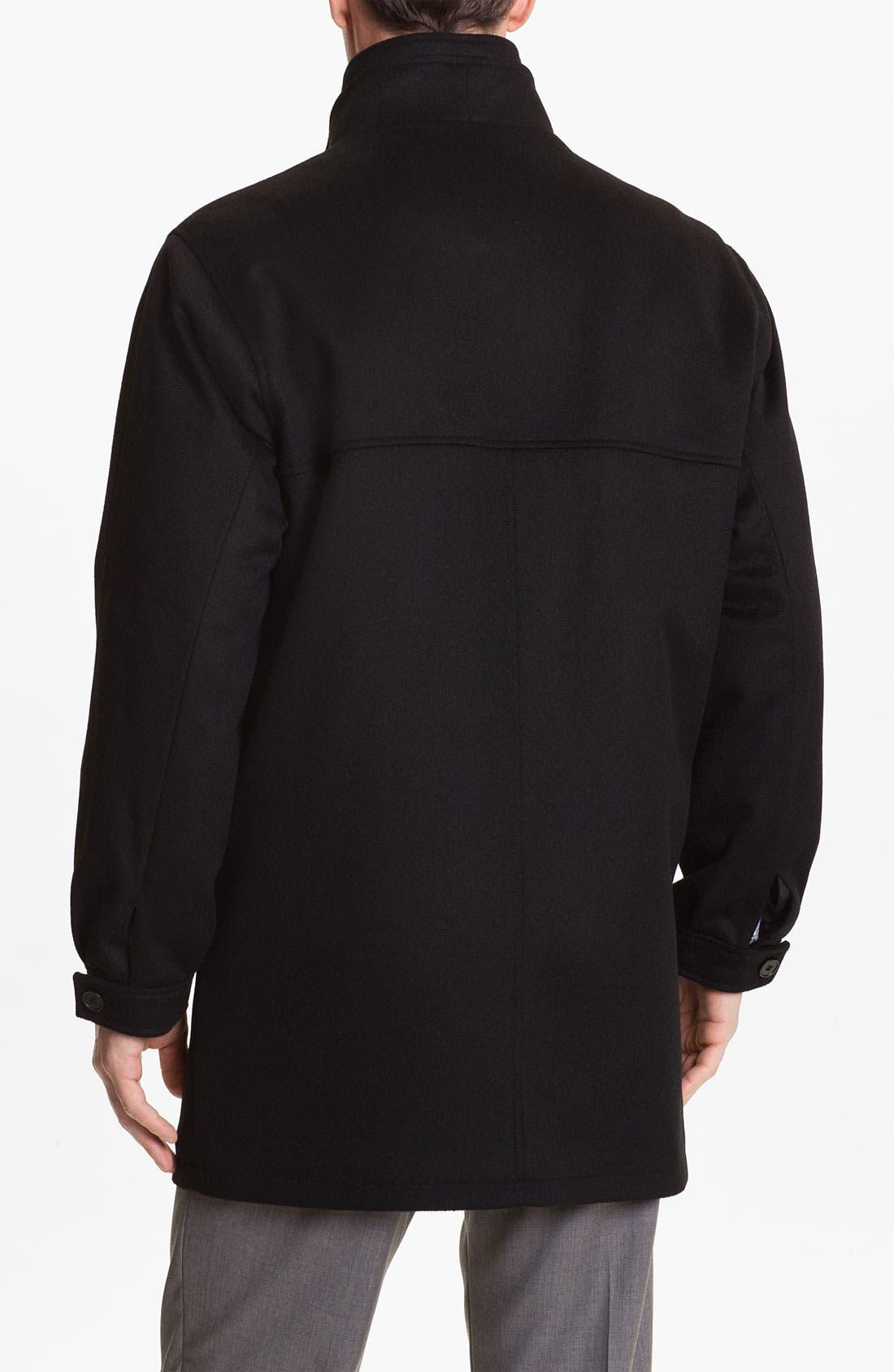 Alternate Image 2  - Cardinal of Canada Wool Blend Car Coat