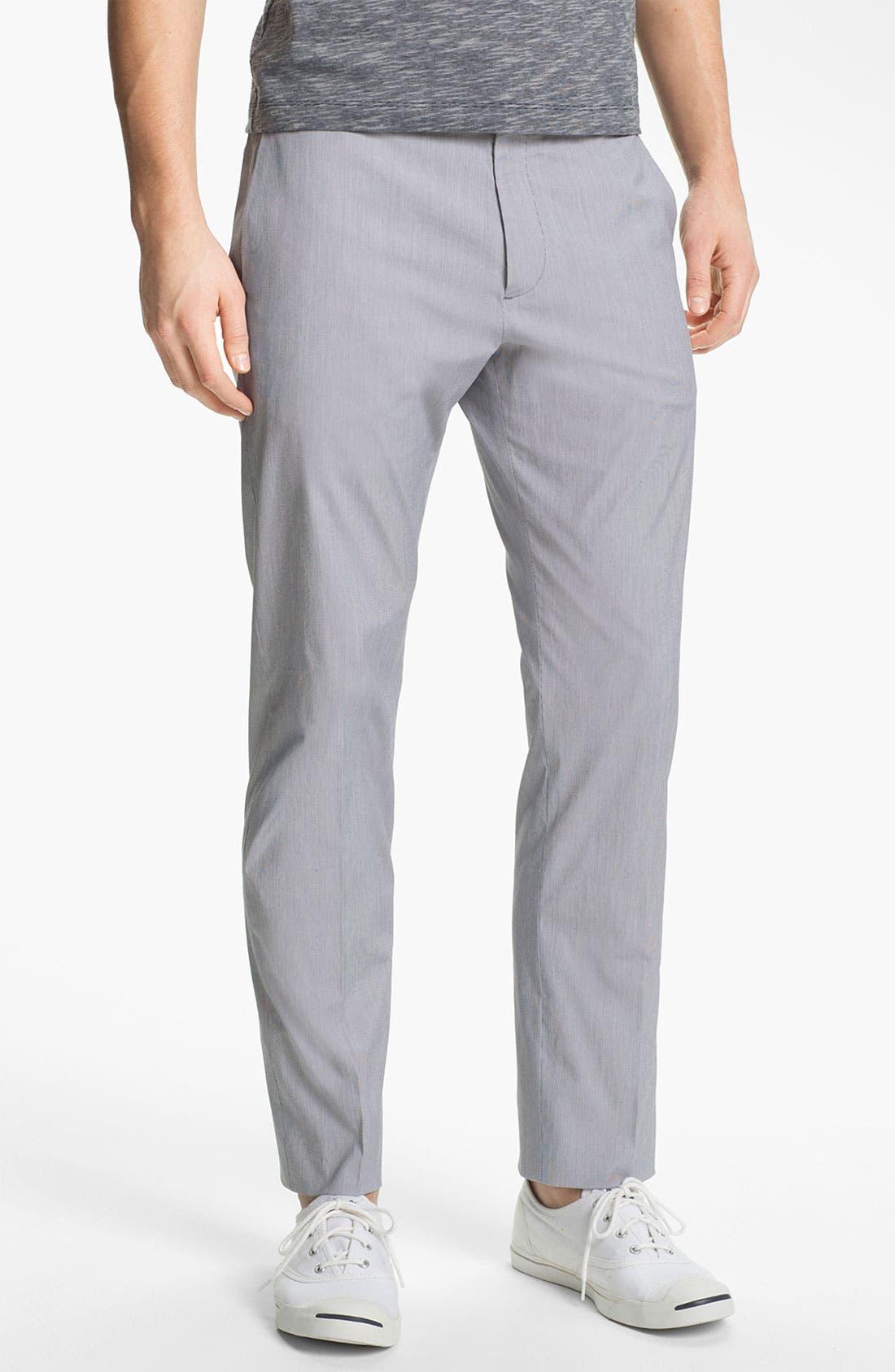 Alternate Image 1 Selected - Theory 'Jake W Shirwin' Slim Flat Front Pants