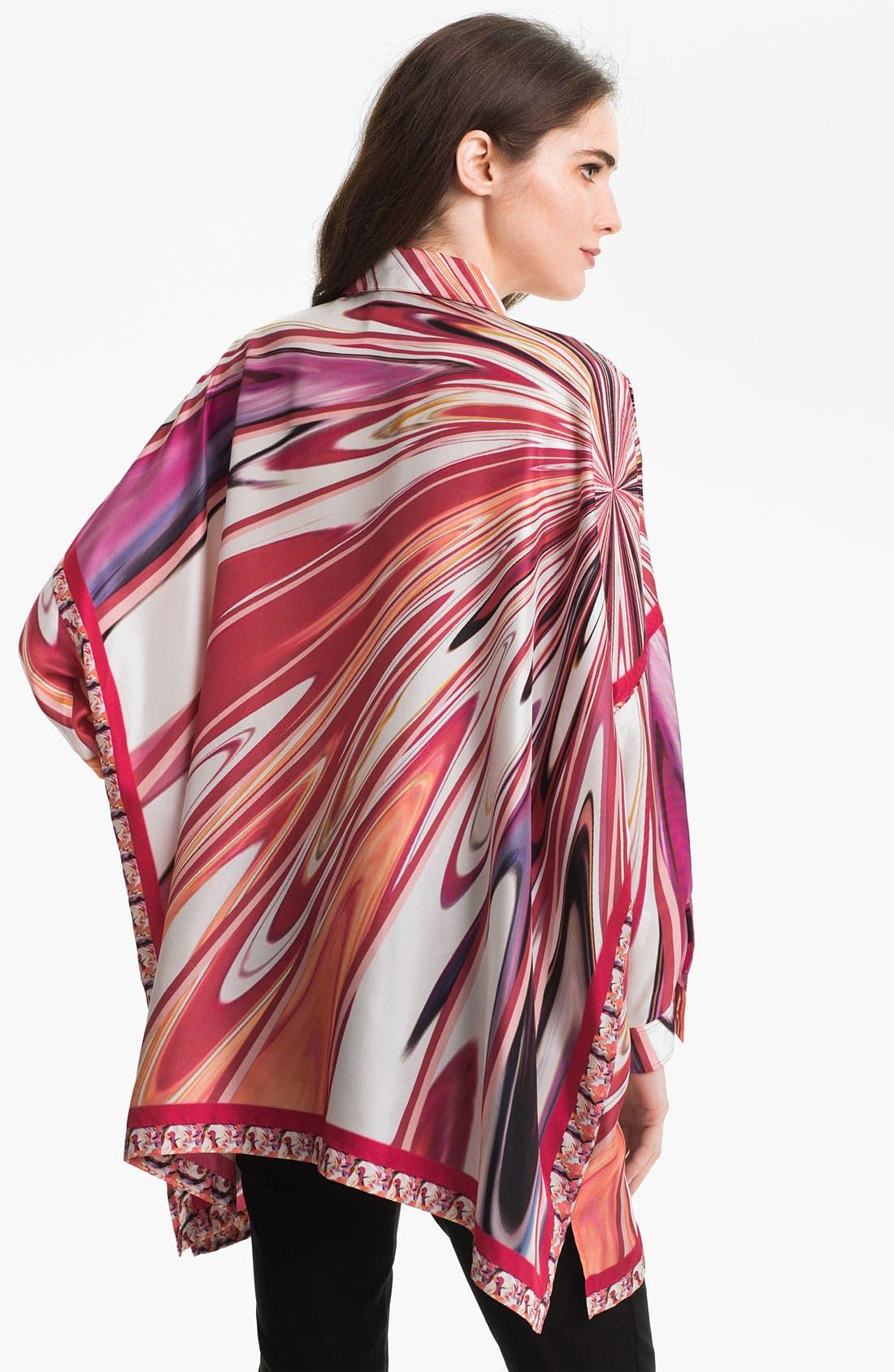 Alternate Image 2  - Lafayette 148 New York 'Nylah' Silk Blouse