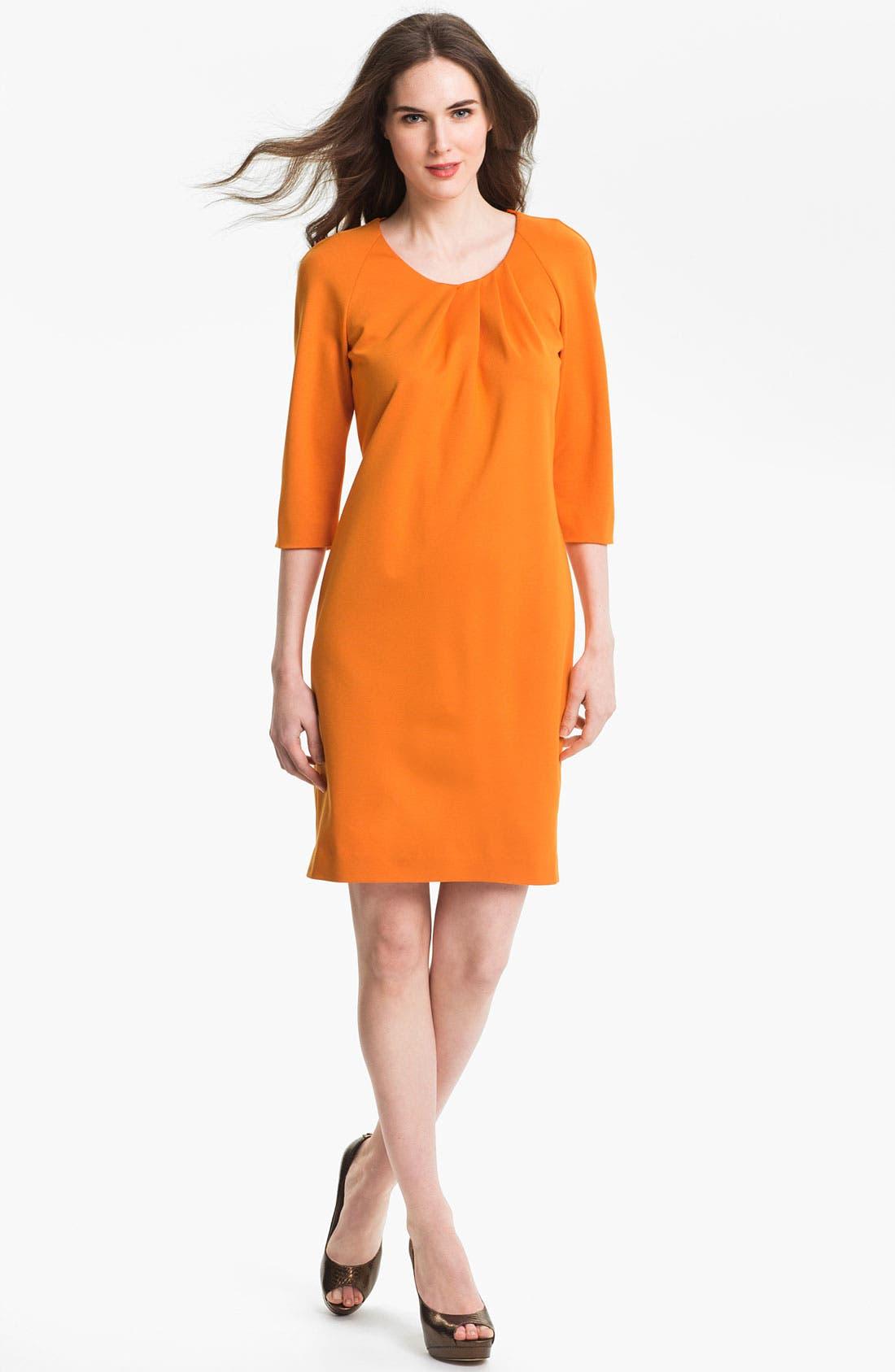 Alternate Image 1 Selected - BOSS Black 'Halay' Dress (Online Only)