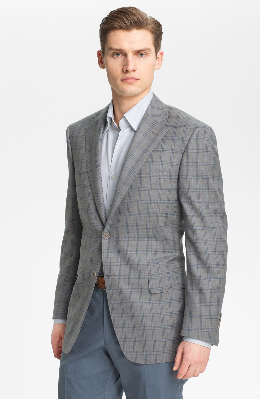 Alternate Image 1 Selected - Canali Windowpane Sportcoat